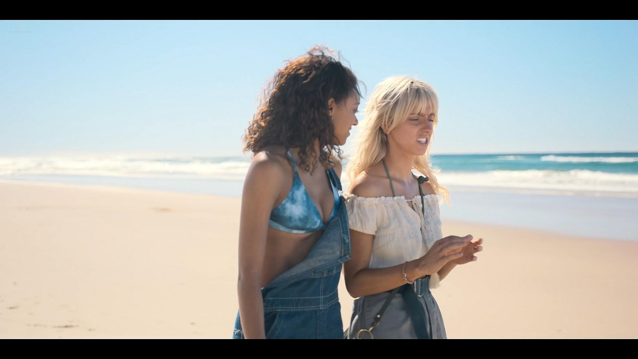 BeBe Bettencourt nude butt Cassandra Sorrell Sophie Wilde nude hot and lesbian sex Eden AU 2021 s1e1 3 1080p Web 5