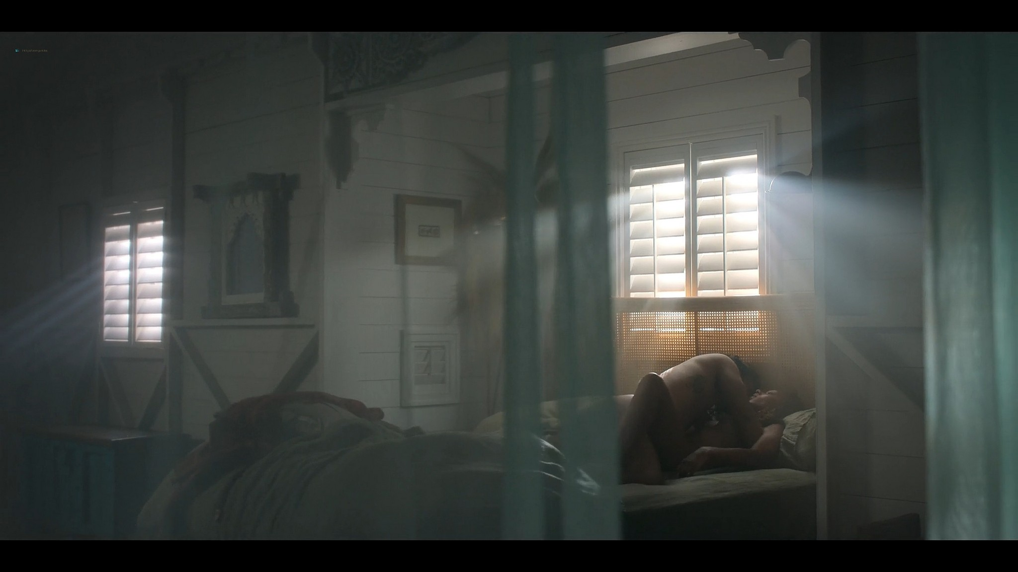BeBe Bettencourt nude butt Cassandra Sorrell Sophie Wilde nude hot and lesbian sex Eden AU 2021 s1e1 3 1080p Web 8