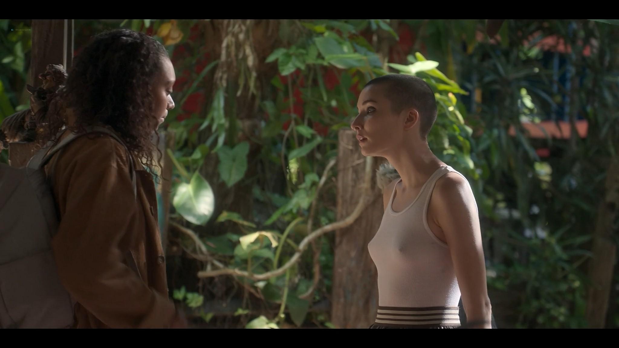 BeBe Bettencourt sexy Sophie Wilde Priscilla Doueihy hot lesbian sex Eden AU 2021 s1e4 8 1080p Web 8