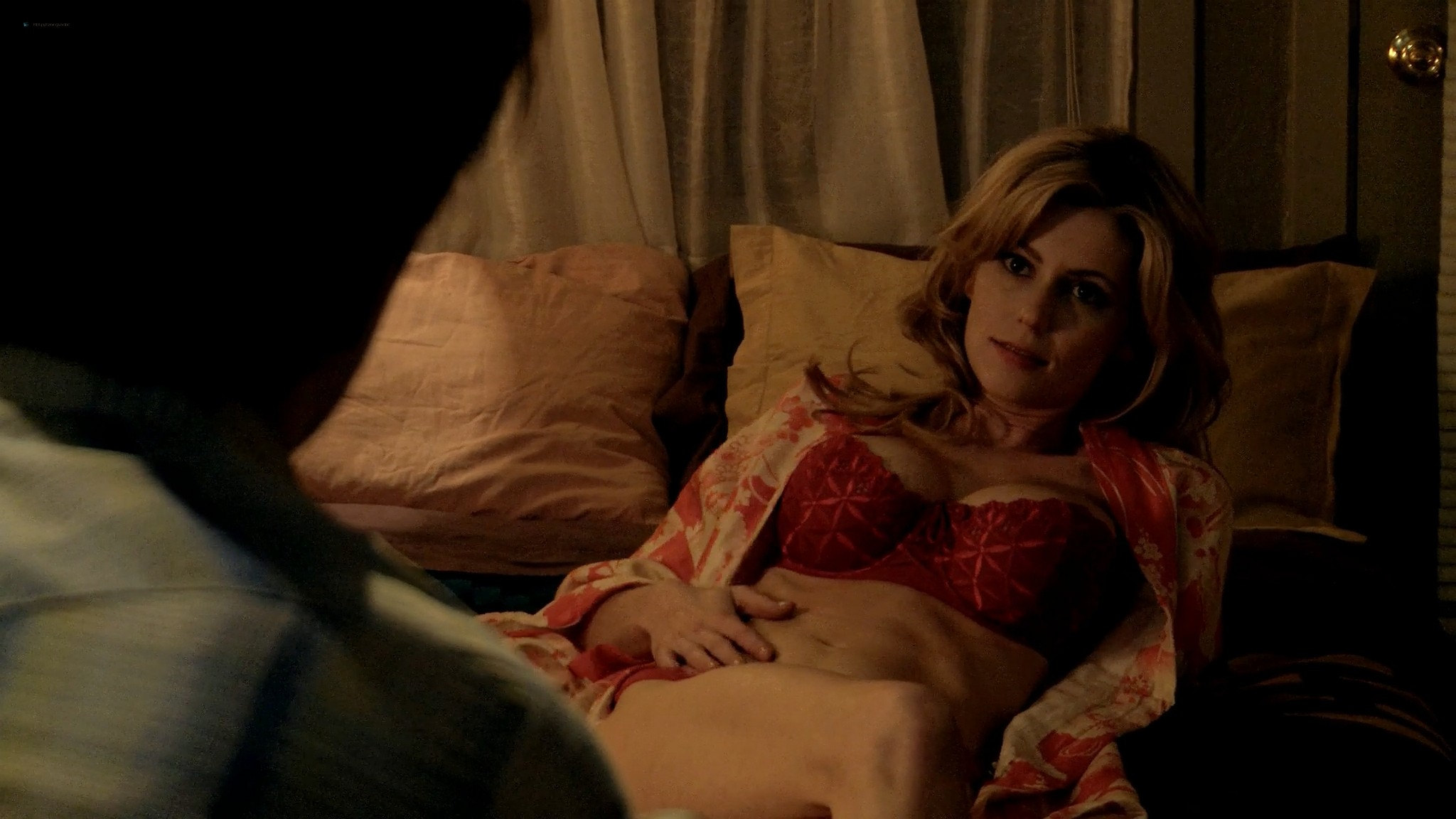 Diora Baird nude busty topless in the shower Quit 2010 1080p Web 4