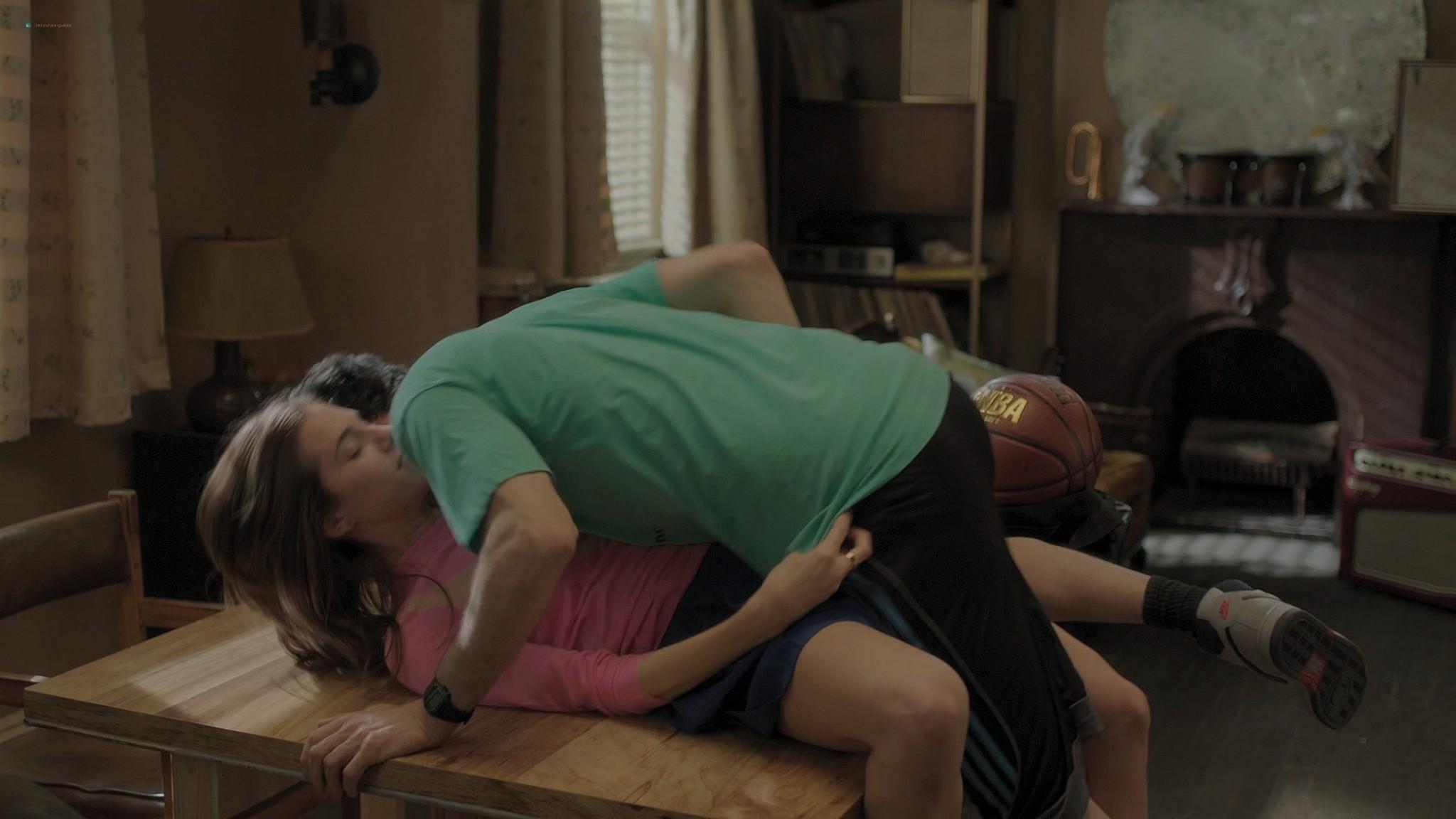 Gaby Hoffmann nude full frontal Allison Williams sex Lena Dunham nude Girls 2012 s3e1 5 1080p Web 13