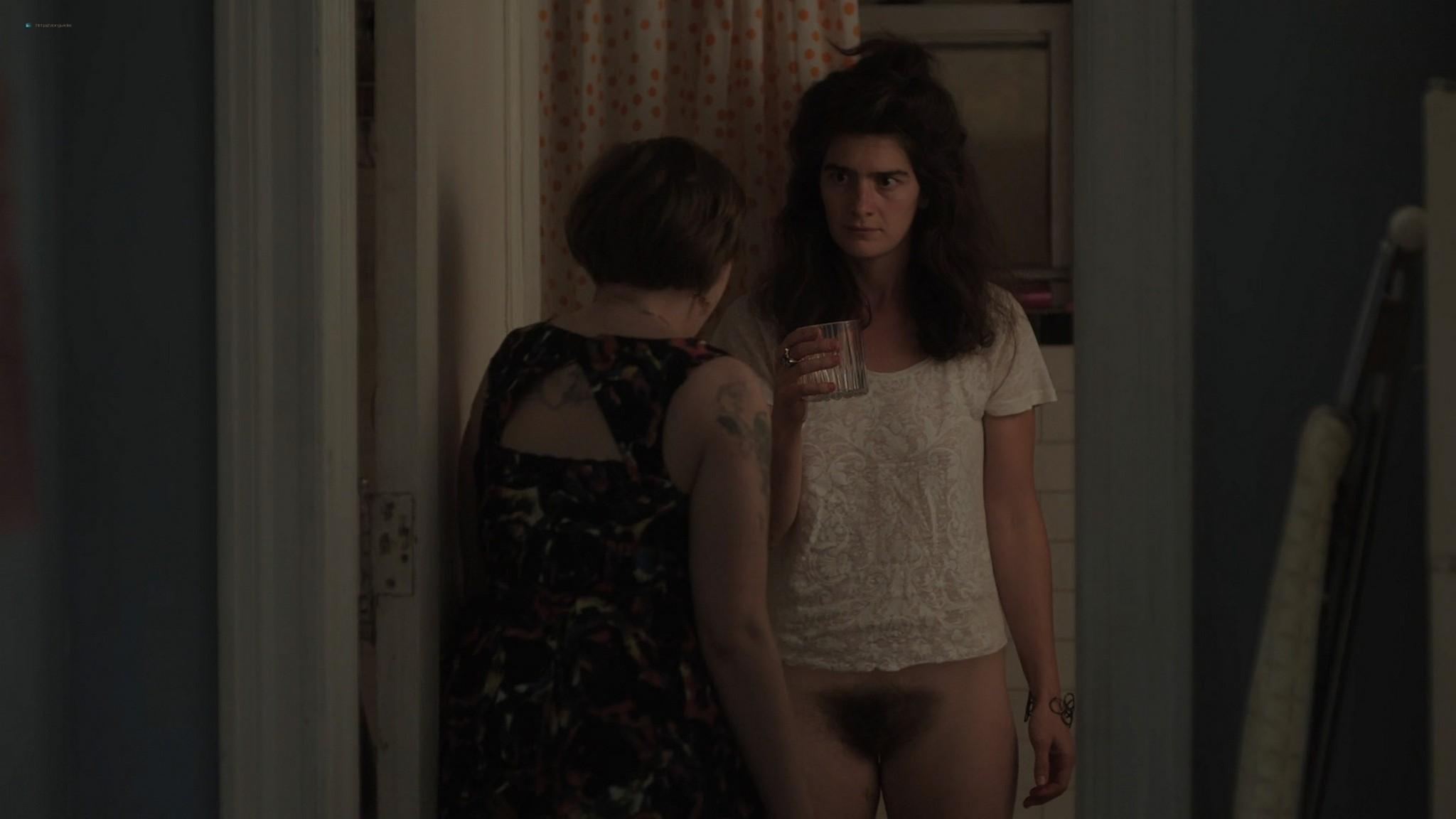 Gaby Hoffmann nude full frontal Allison Williams sex Lena Dunham nude Girls 2012 s3e1 5 1080p Web 6