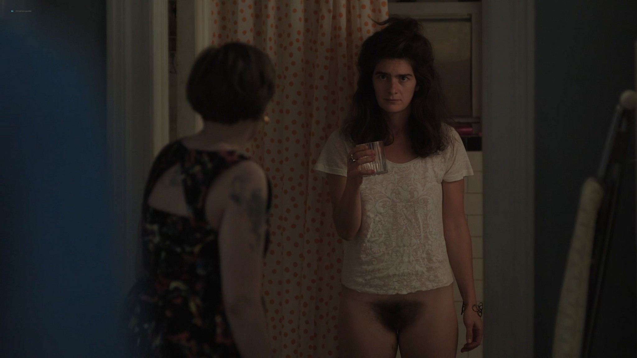 Gaby Hoffmann nude full frontal Allison Williams sex Lena Dunham nude Girls 2012 s3e1 5 1080p Web 7