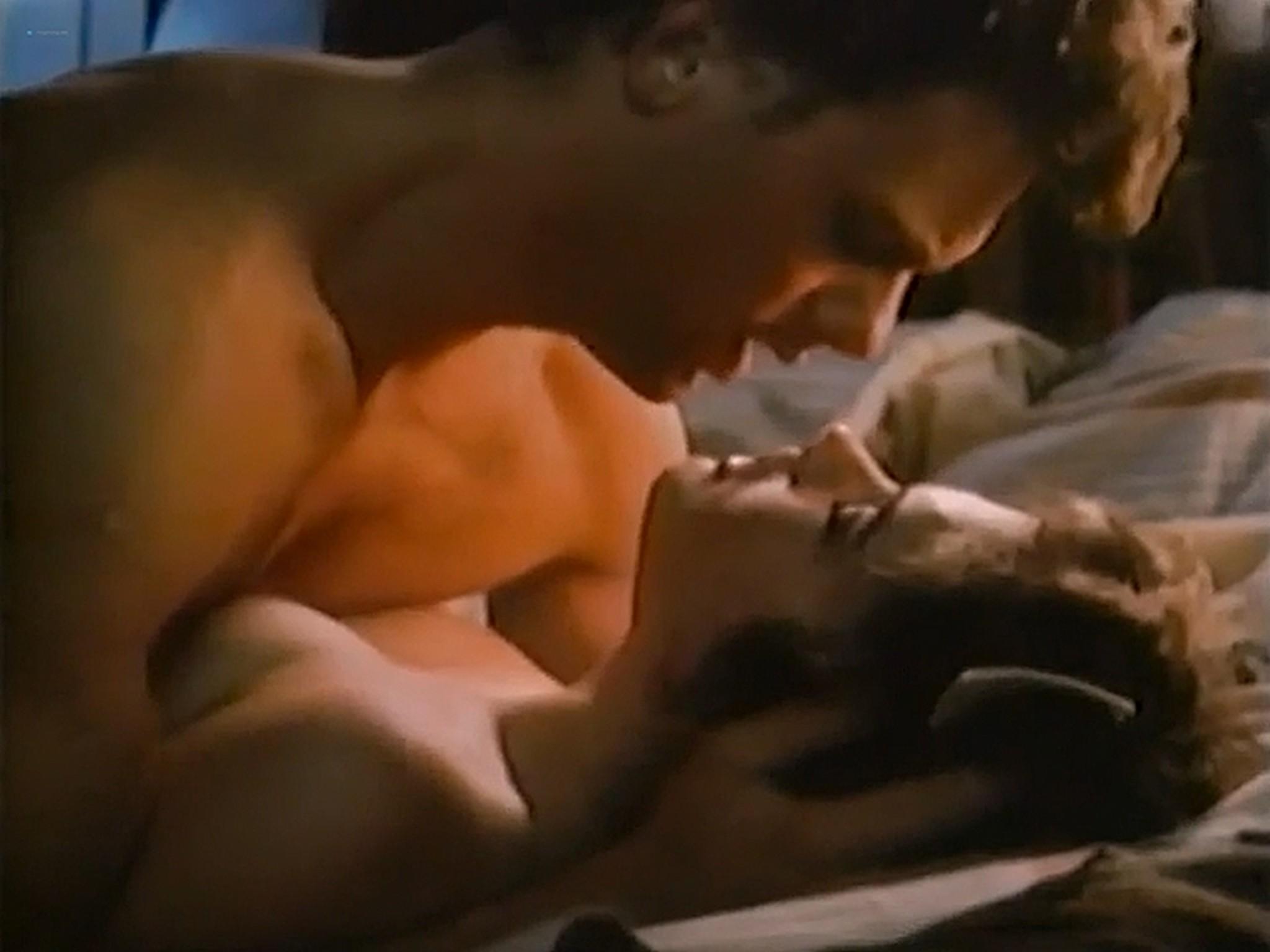 Heather Langenkamp nude topless and sex Nickel Mountain 1984 VHSRip 10