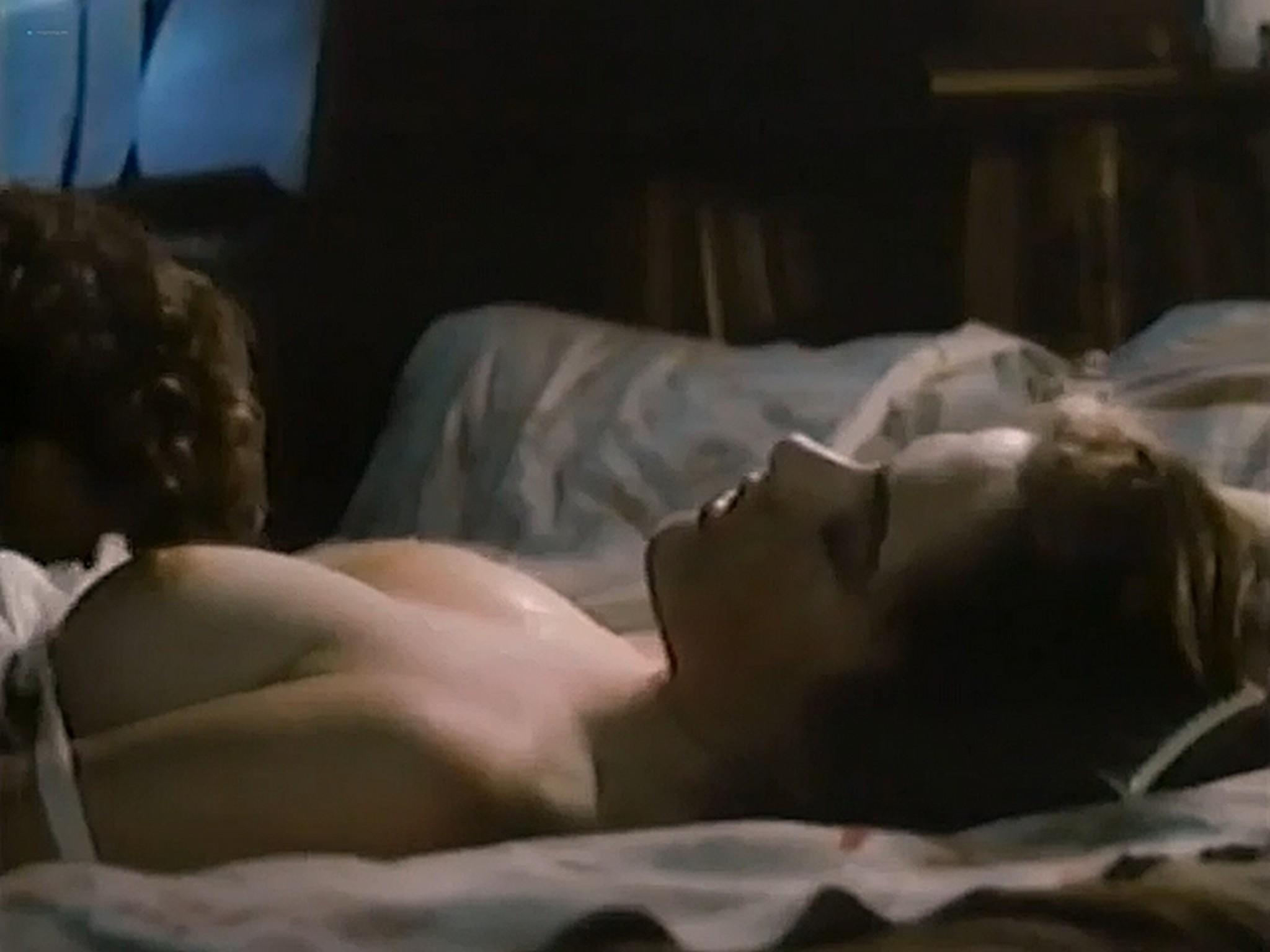 Heather Langenkamp nude topless and sex Nickel Mountain 1984 VHSRip 6