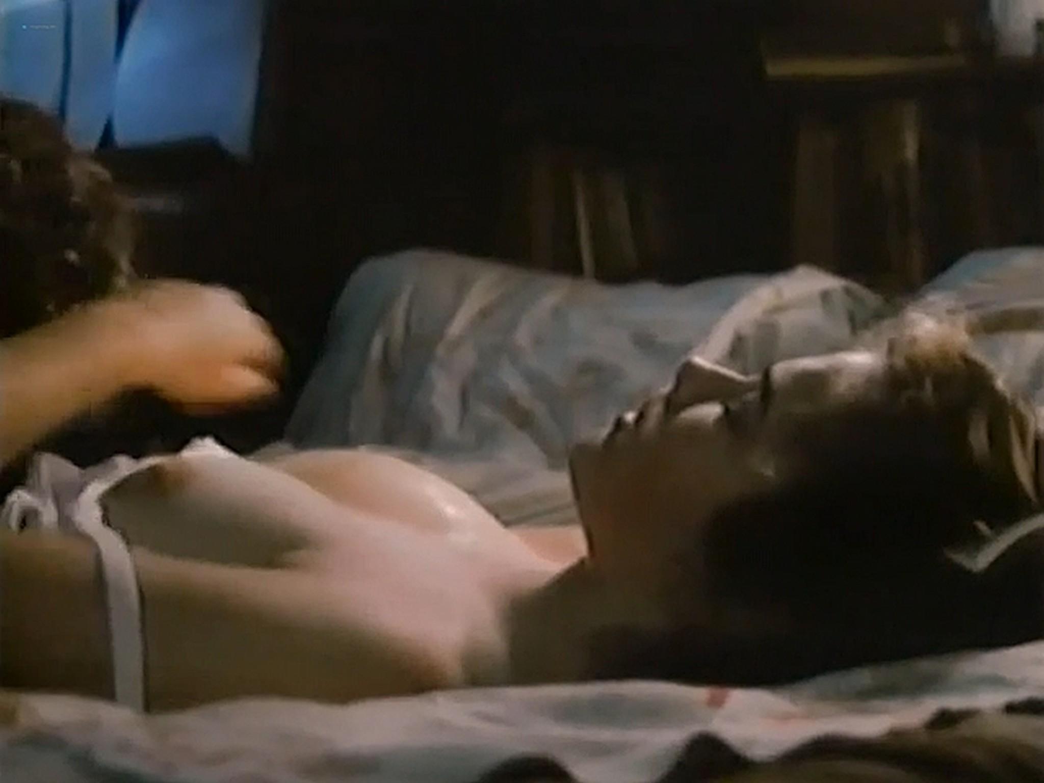 Heather Langenkamp nude topless and sex Nickel Mountain 1984 VHSRip 7
