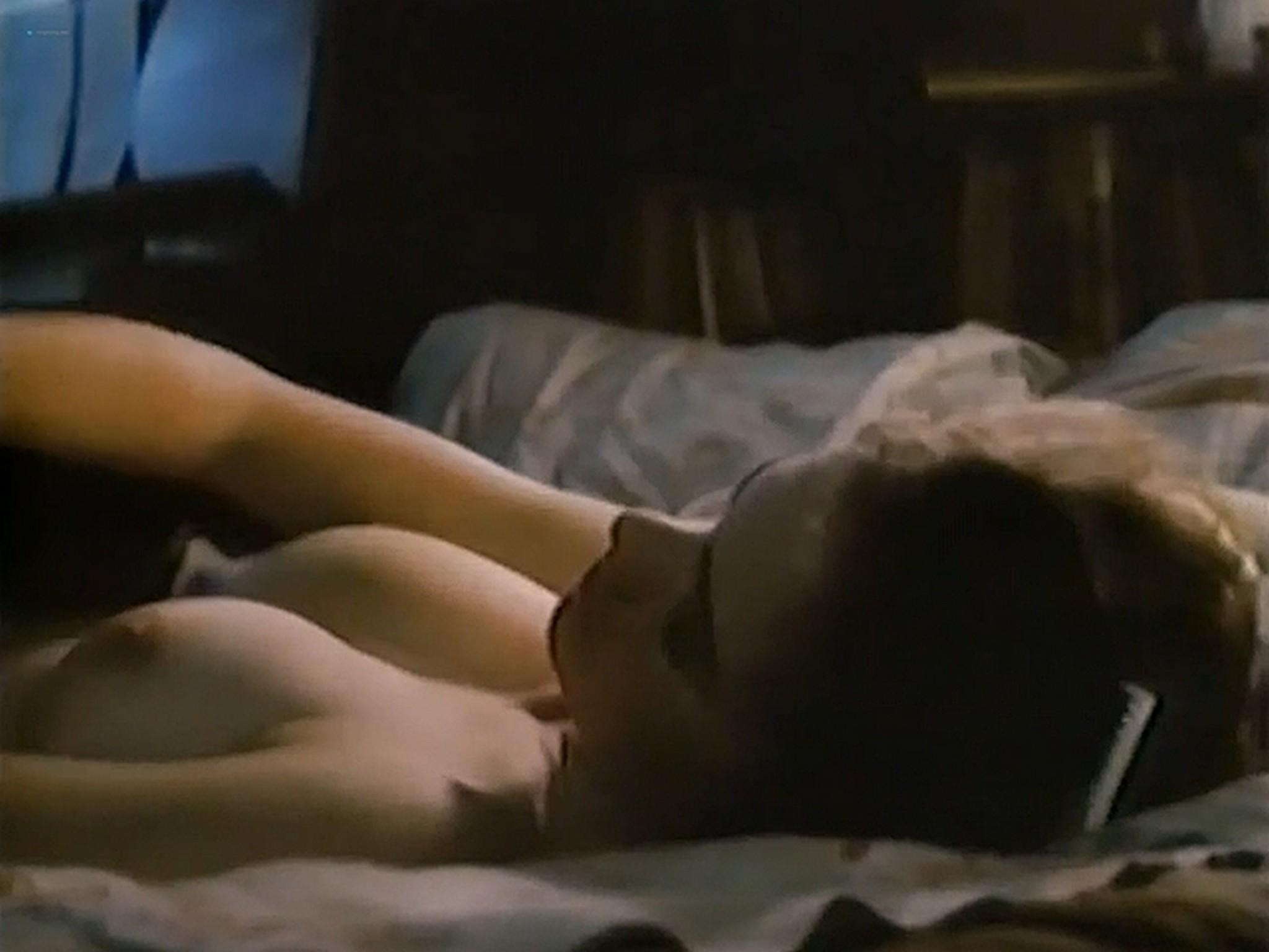 Heather Langenkamp nude topless and sex Nickel Mountain 1984 VHSRip 8