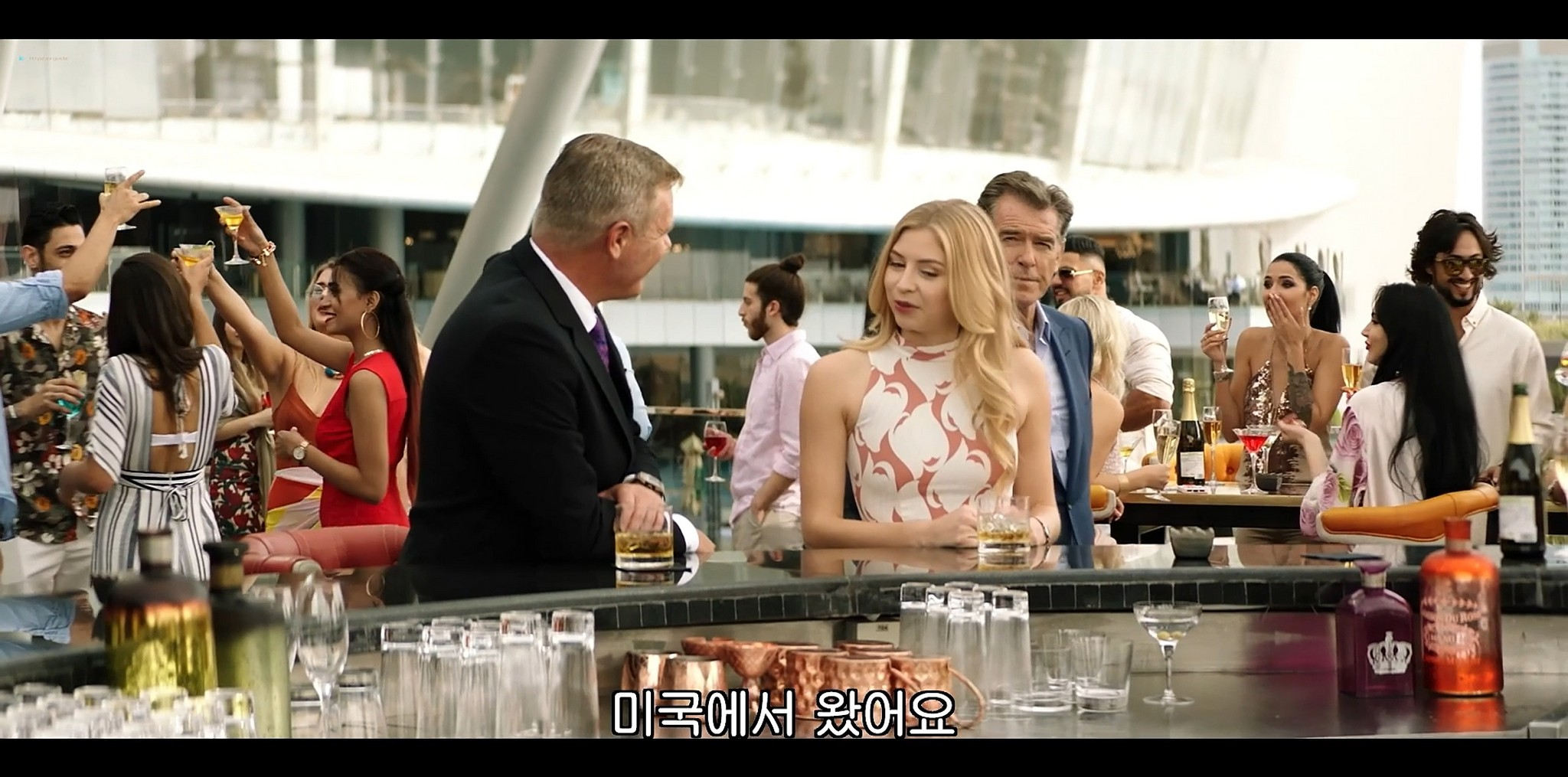 Hermione Corfield hot Jamie Chung sexy The Misfits 2021 1080p Web