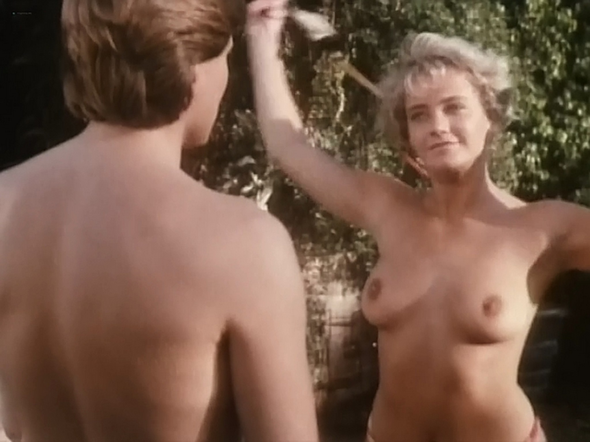 Kim Evenson nude full frontal Monique Gabrielle Sylvia Kristel all nude bush and full frontal The Big Bet 1985 DVDRip 12