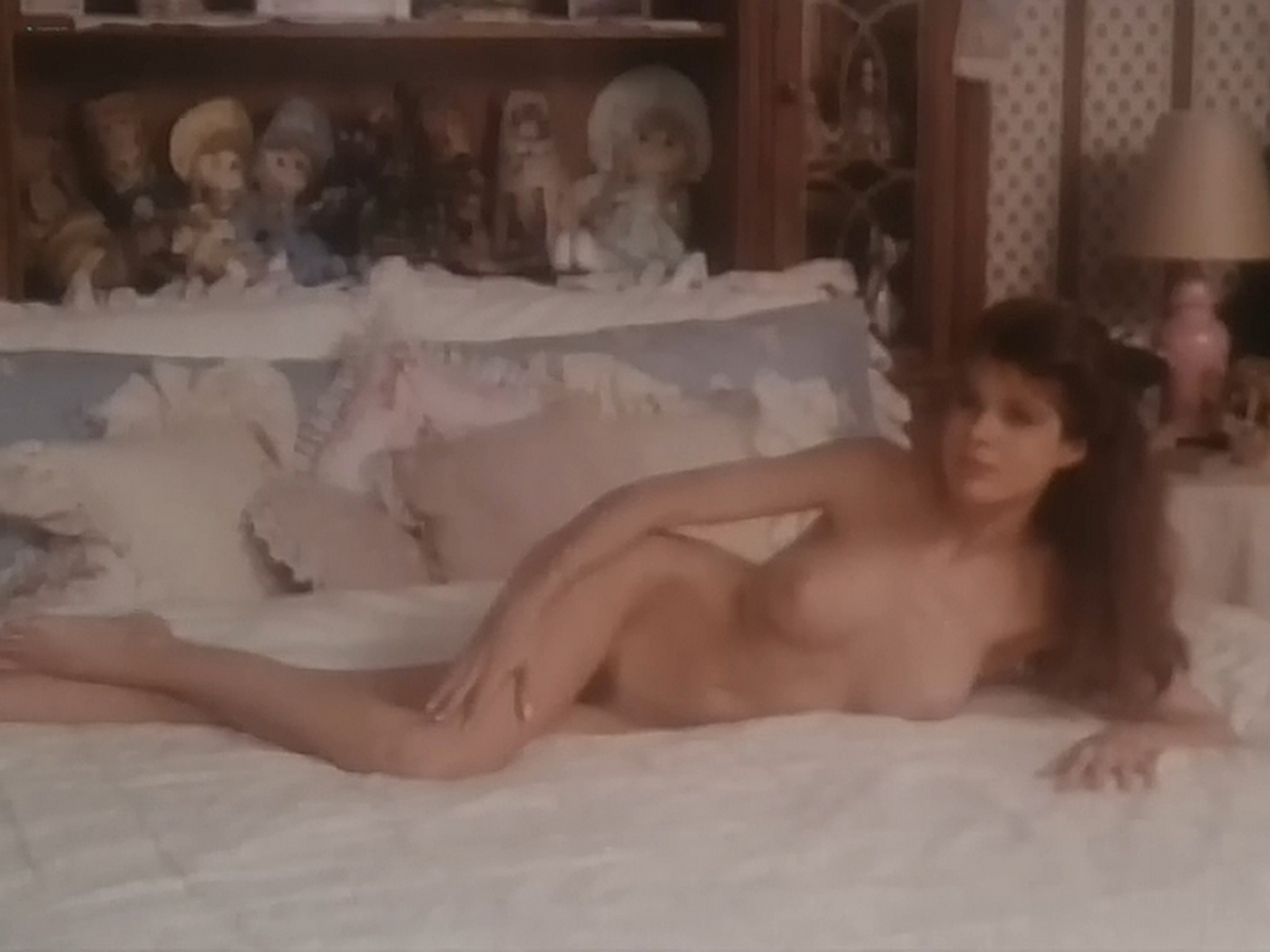 Kim Evenson nude full frontal Monique Gabrielle Sylvia Kristel all nude bush and full frontal The Big Bet 1985 DVDRip 8