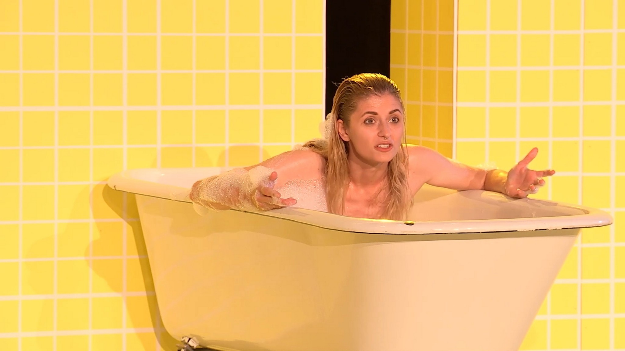 Laura Roberta Kuhr nude full frontal and labia Die Herrmannsschlacht 2020 1080p 5