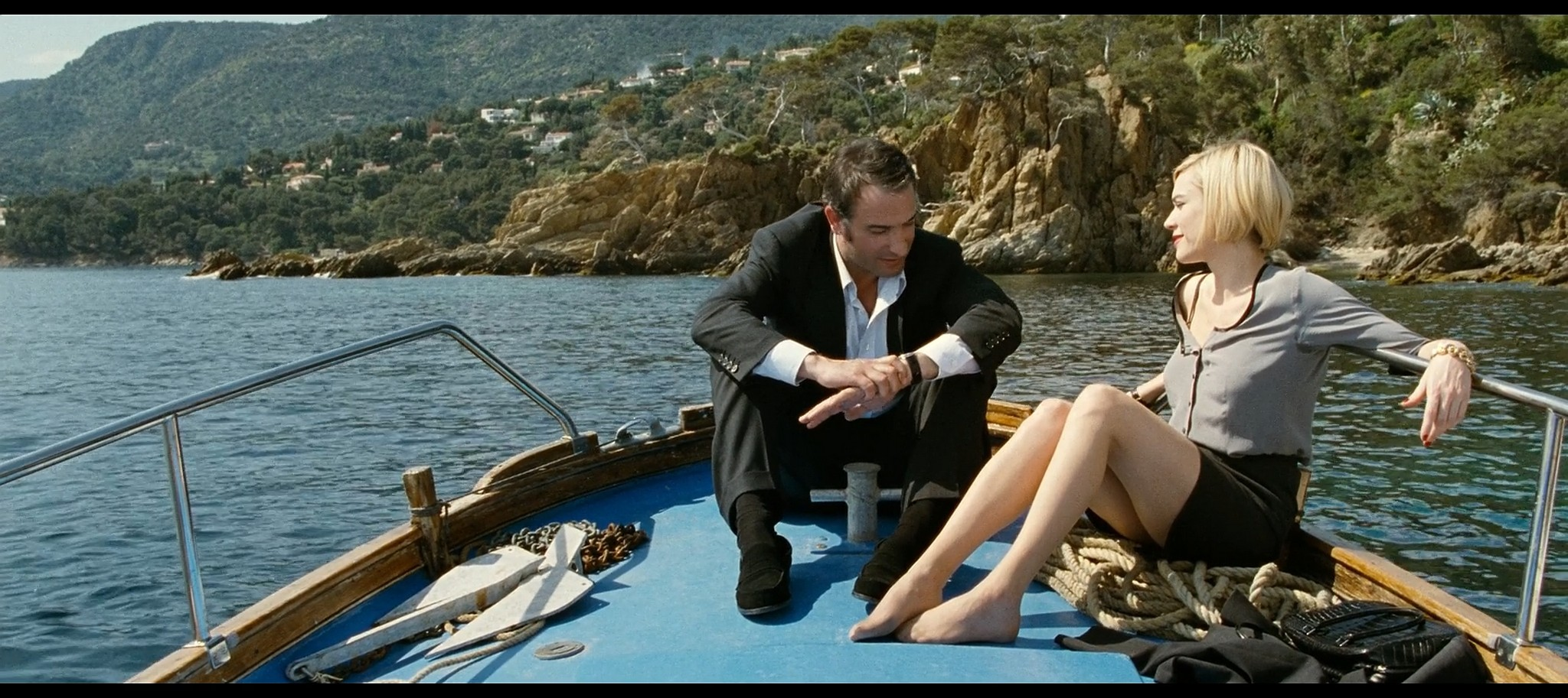 Marie Josee Croze nude wet and sex Un balcon sur la mer FR 2010 BluRay