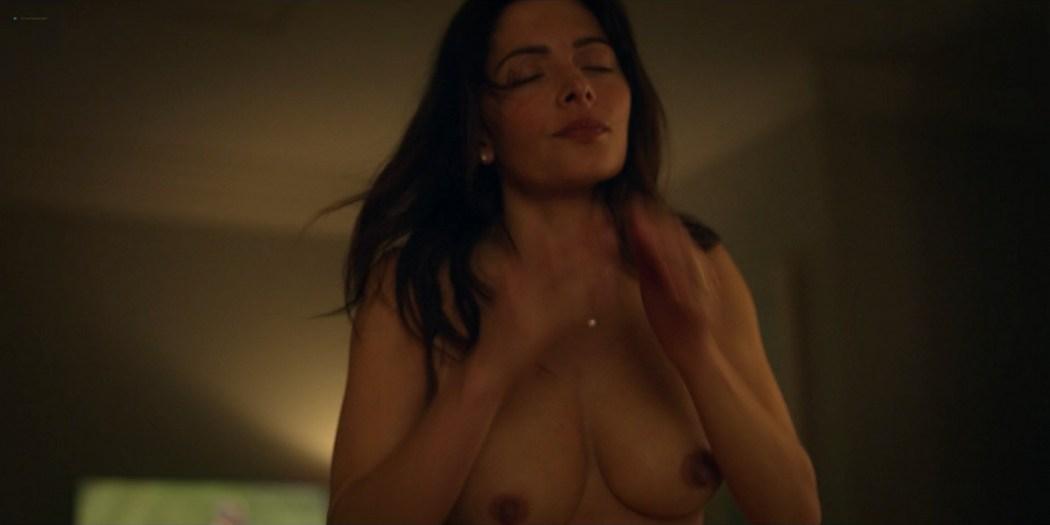 Sarah Shahi nude debut lot of hot sex Sex Life 2021 s1e1 1080p Web 8