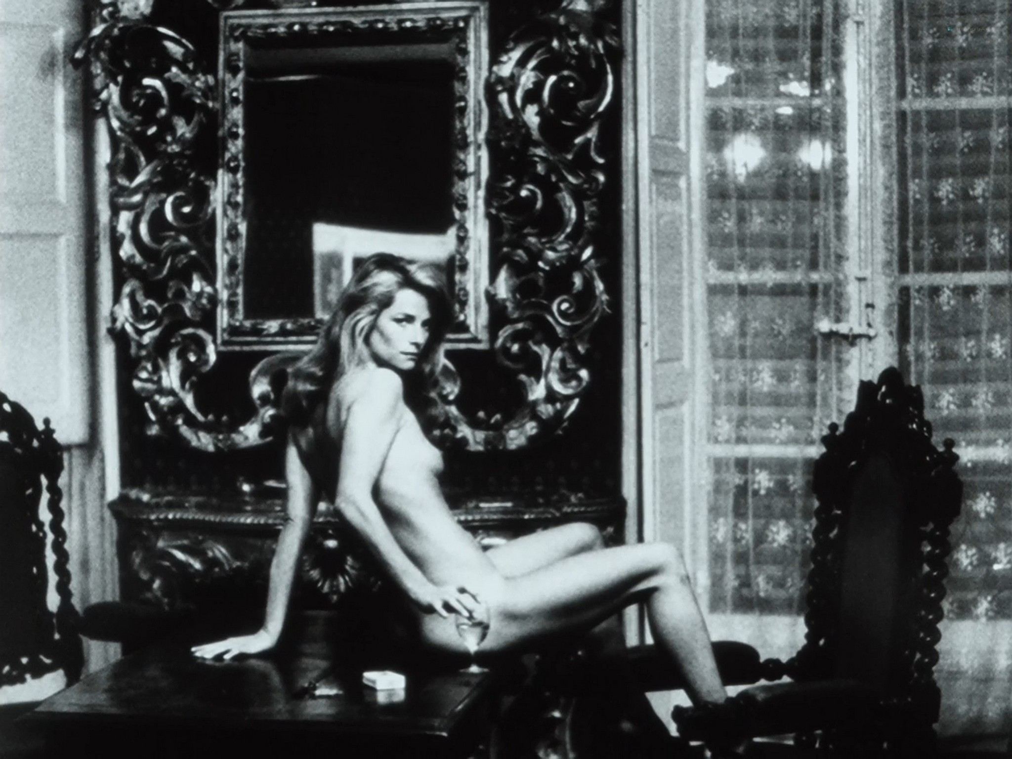 Sigourney Weaver hot Charlotte Rampling nude others nude most full frontal Helmut Newton Frames from the Edge 1989 1080p BluRay 12