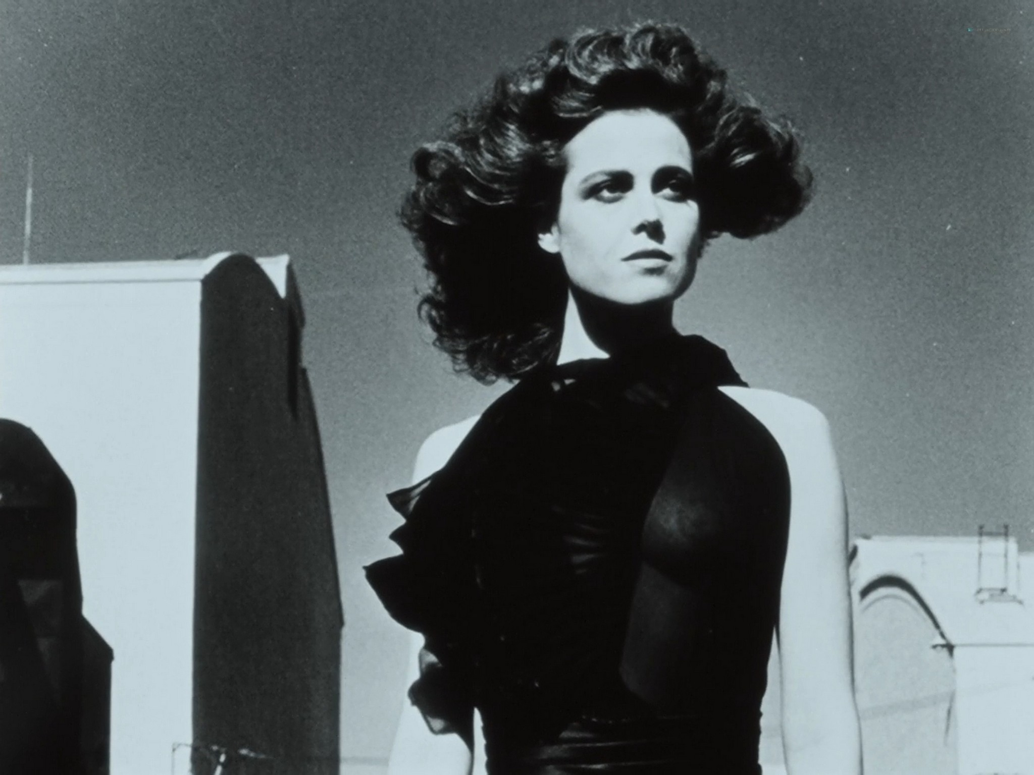 Sigourney Weaver hot Charlotte Rampling nude others nude most full frontal Helmut Newton Frames from the Edge 1989 1080p BluRay 21