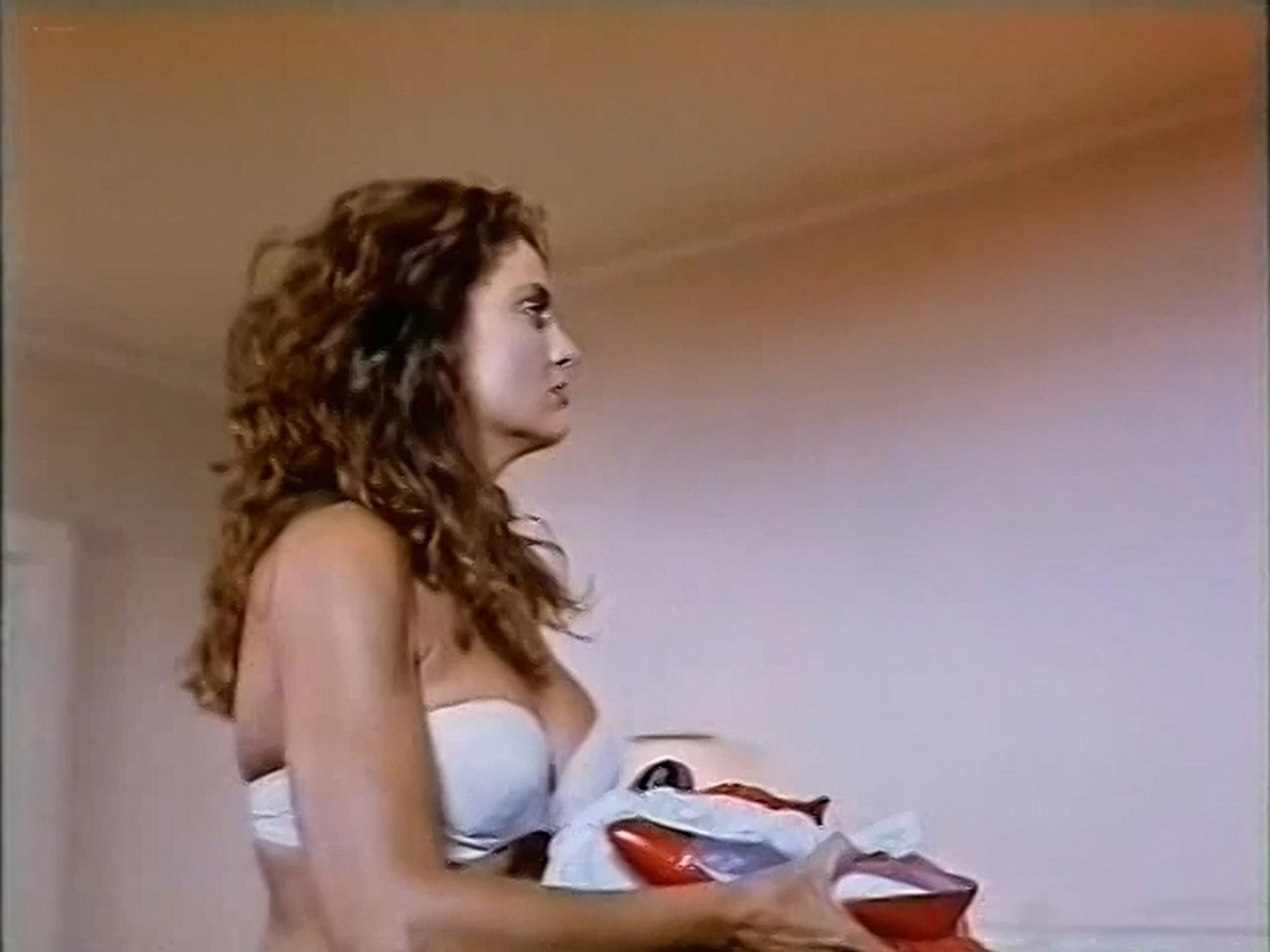Tracy Scoggins nude in the shower The Gumshoe Kid 1990 DVDRip 2
