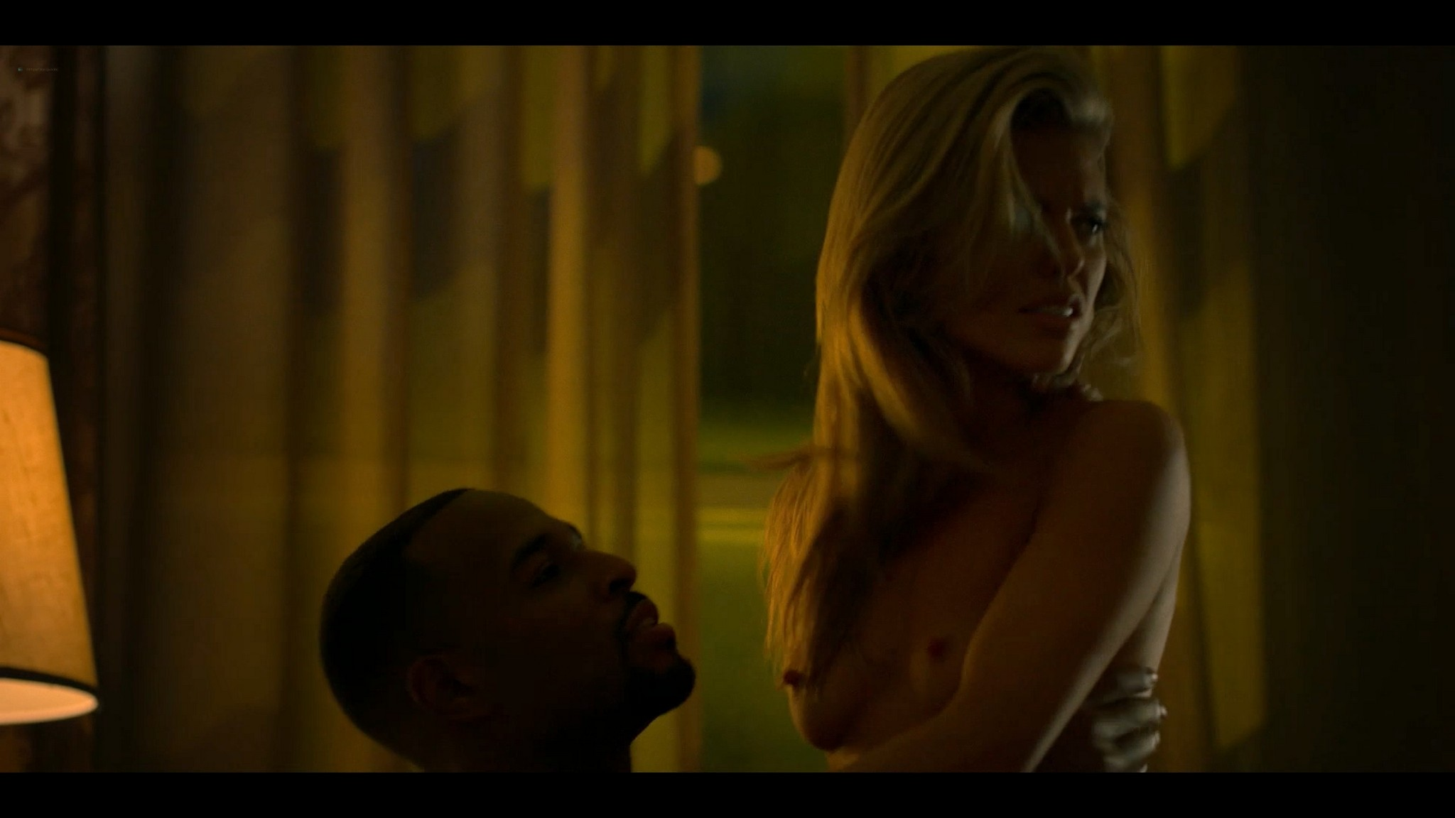 Annalynne McCord nude topless and sex Power Book III Raising Kanan 2021 s1e1 1080p Web 5