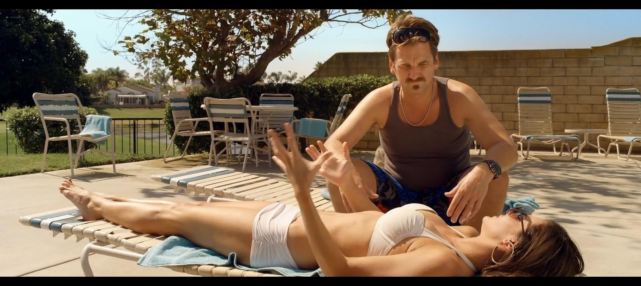 Briana Lane hot bikini and Brea Grant hot Oliver stoned 2014 HD 1080p BluRay 11