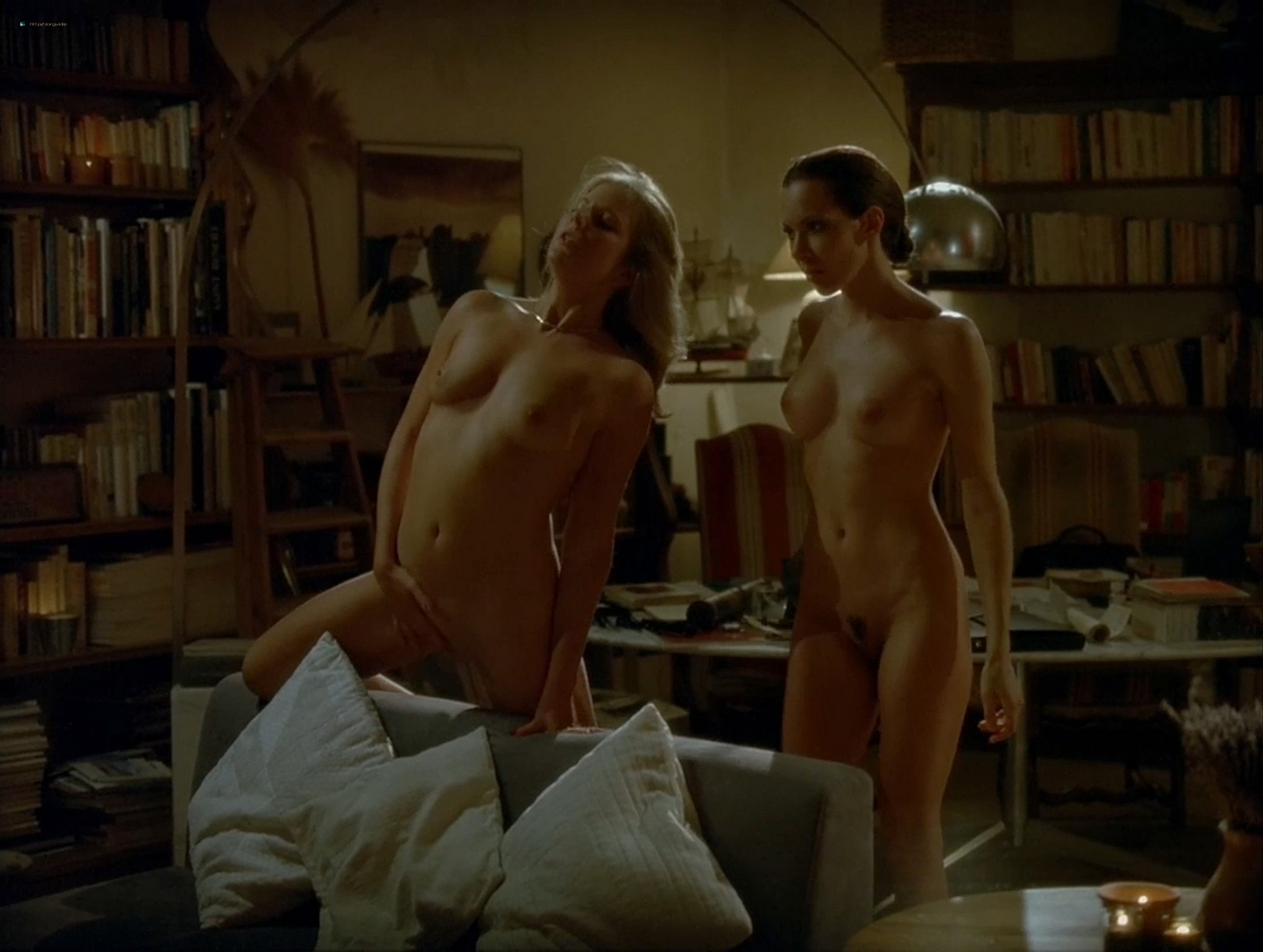 Carole Brana nude full frontal and sex threesome Nadia Chibani nude and Lise Bellynck nude too A L aventure FR 2008 1080p Web 7