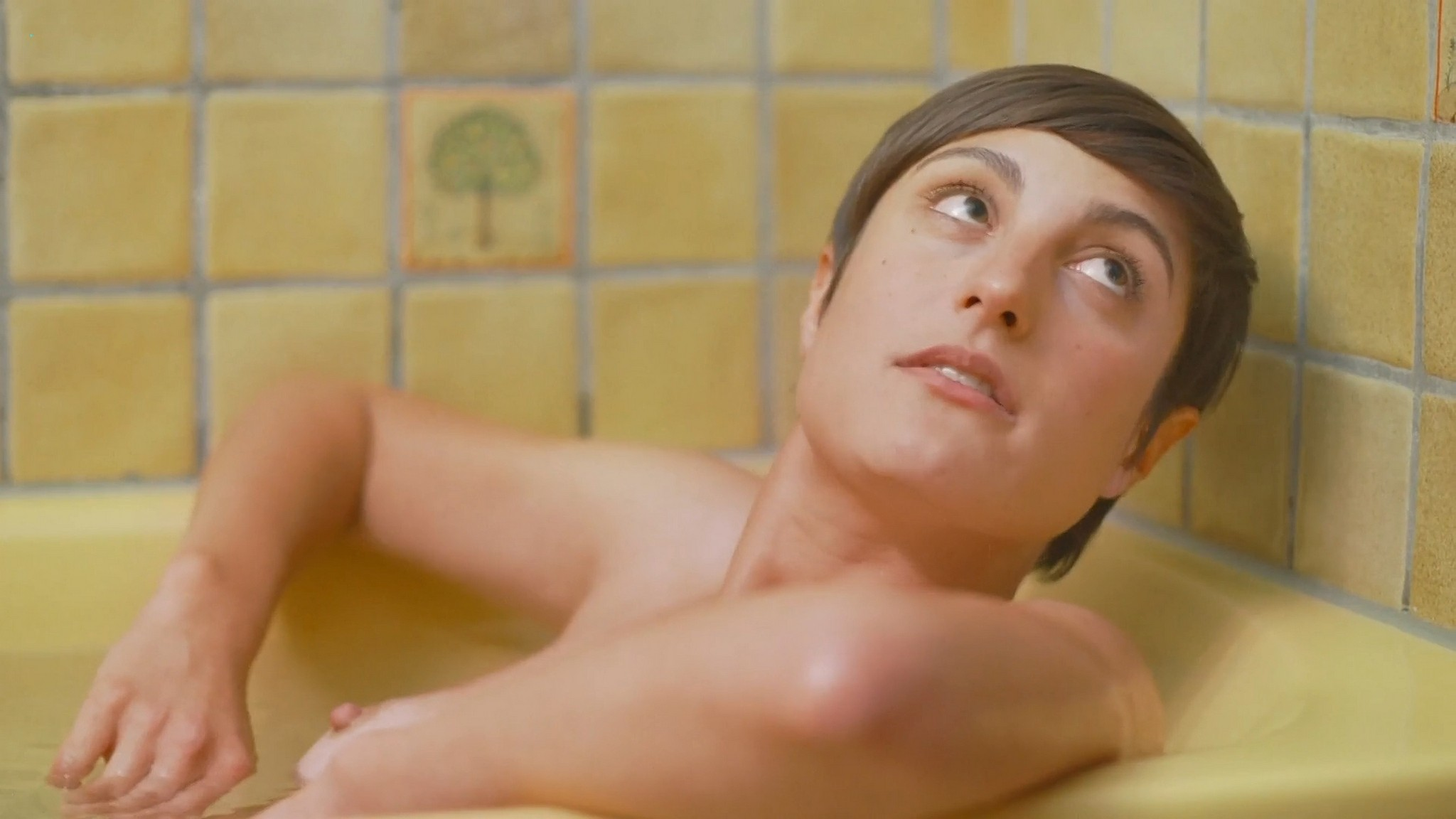 Carole Le Page nude full frontal Sophie Letourneur Lolita Chammah nude too Les coquillettes FR 2012 1080p Web 9