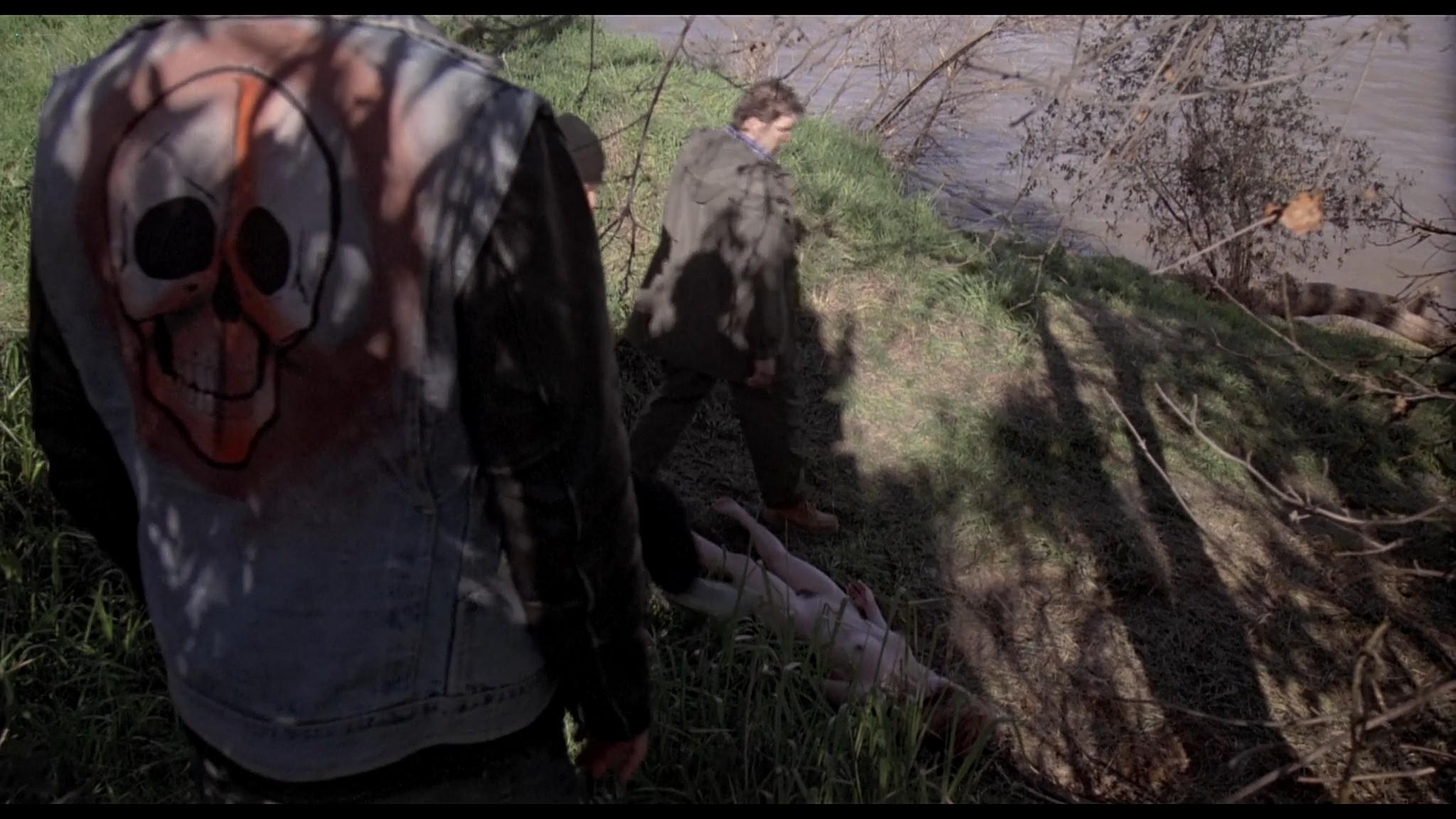 Danyi Deats nude bush topless but dead Rivers Edge 1986 HD 1080p BluRay 11