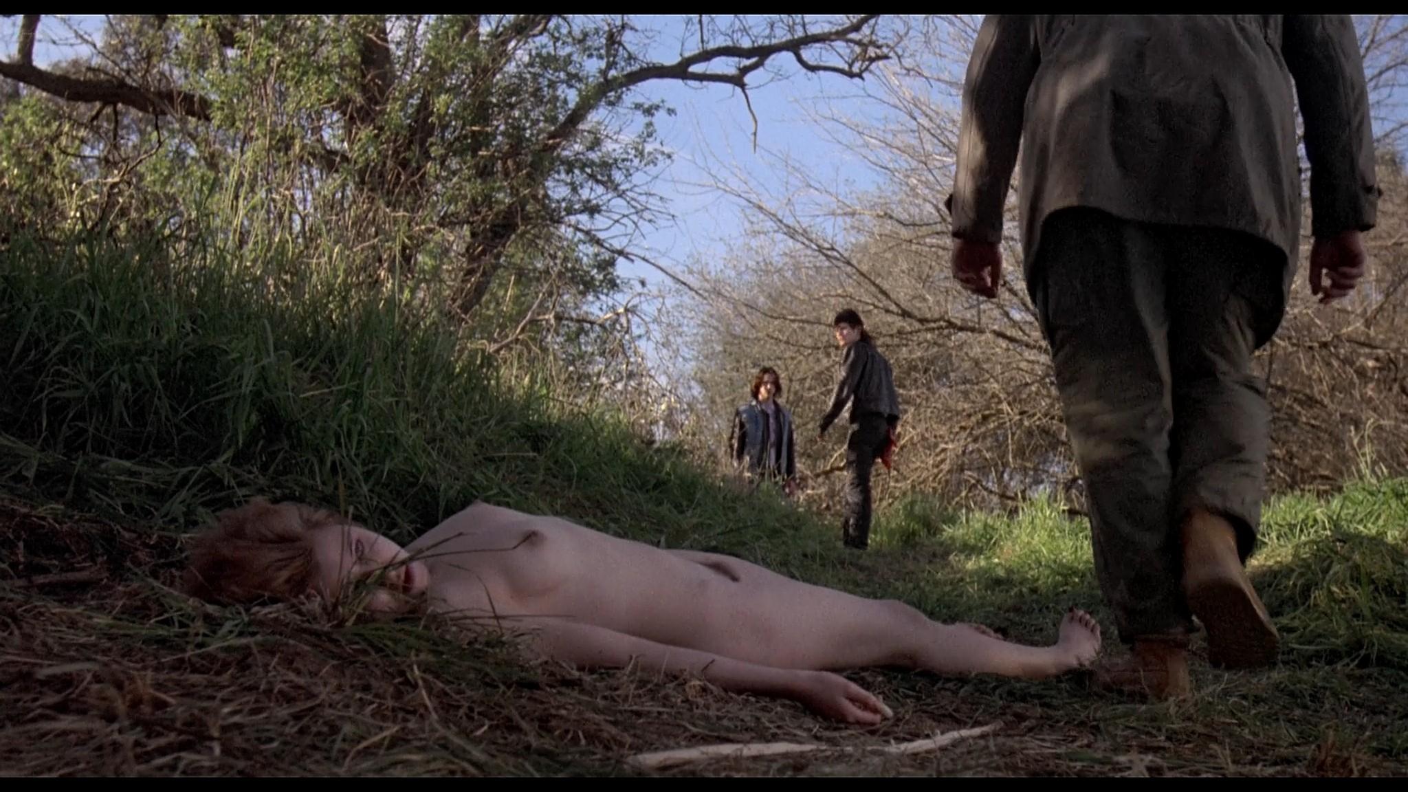 Danyi Deats nude bush topless but dead Rivers Edge 1986 HD 1080p BluRay 8