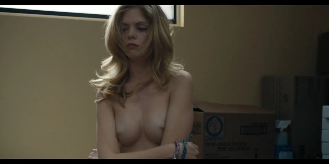 Dreama Walker nude topless Compliance 2012 HD 1080p BluRay REMUX 8