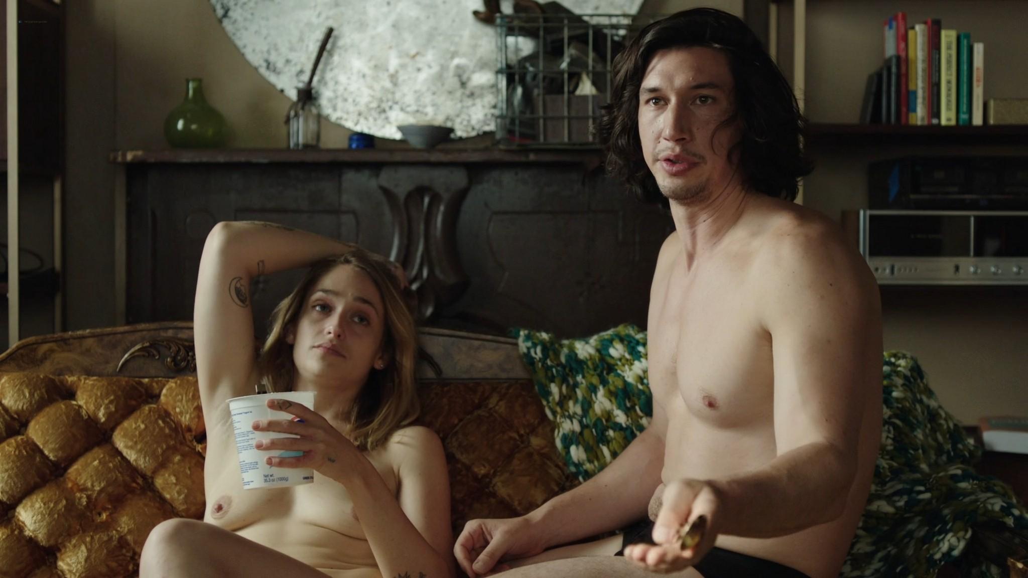 Jemima Kirke nude full frontal Lena Dunham Daisy Eagan nude Allison Williams sexy Girls 2012 s6e1 4 1080p Web