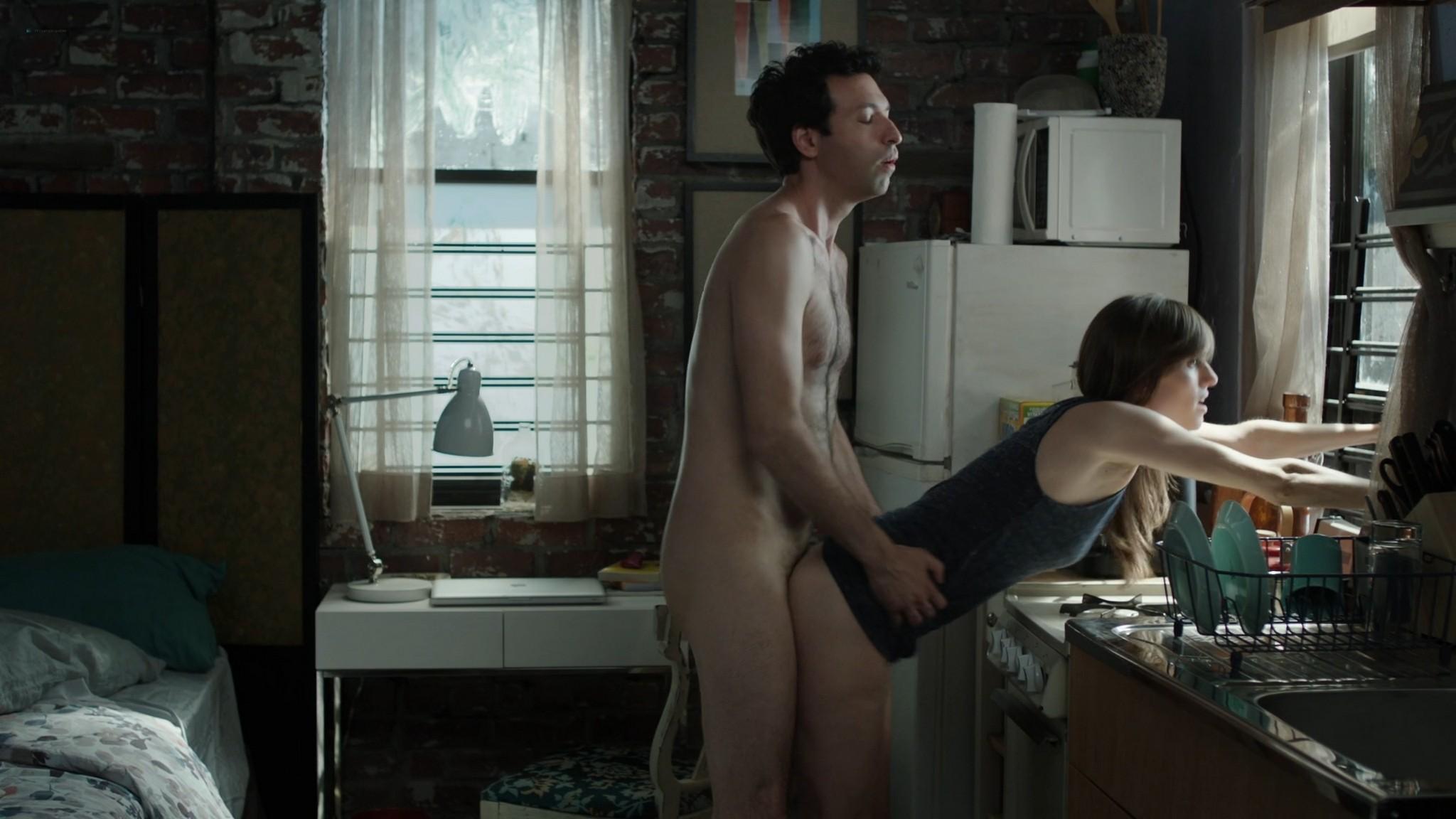 Jemima Kirke nude full frontal Lena Dunham Daisy Eagan nude Allison Williams sexy Girls 2012 s6e1 4 1080p Web 13