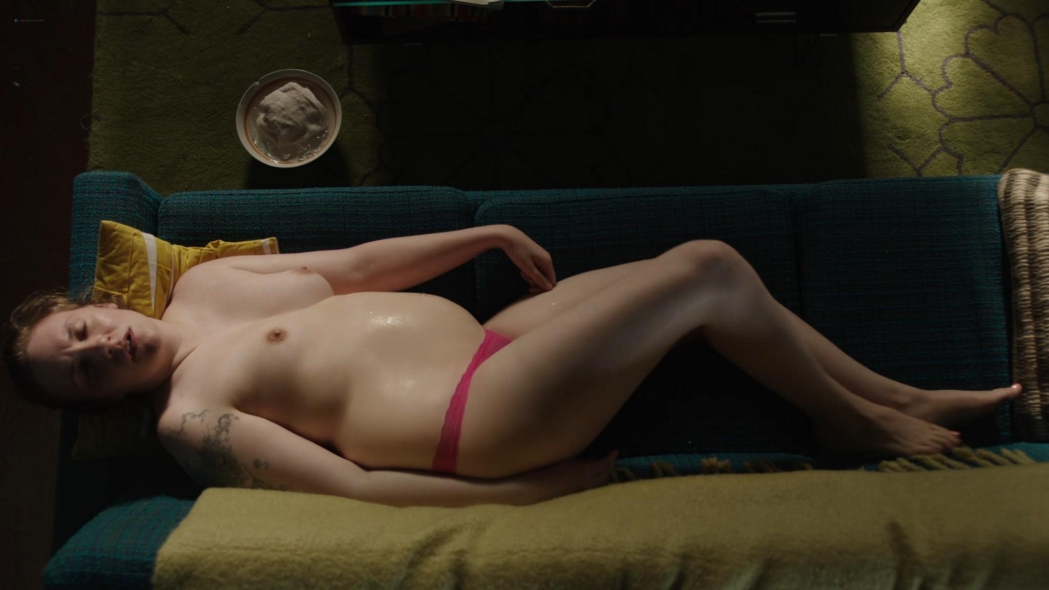 Lena Dunham nude bush Jemima Kirke nude Allison Williams sexy Girls 2012 s6e5 10 1080p Web 3