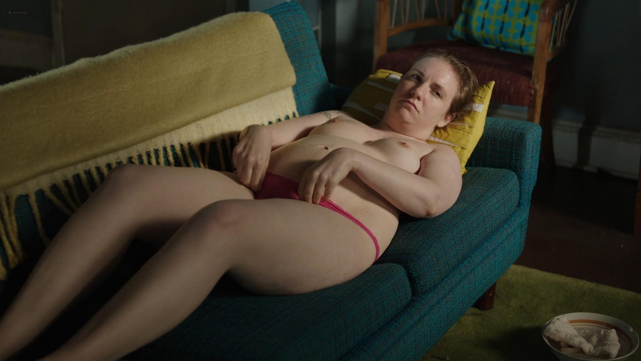 Lena Dunham nude bush Jemima Kirke nude Allison Williams sexy Girls 2012 s6e5 10 1080p Web 5