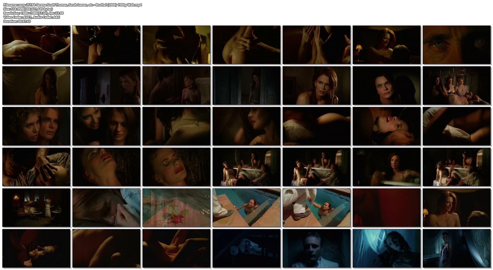 Serena Scott Thomas nude sex Sarah Lassez and others nude too Brothel 2008 1080p Web 20