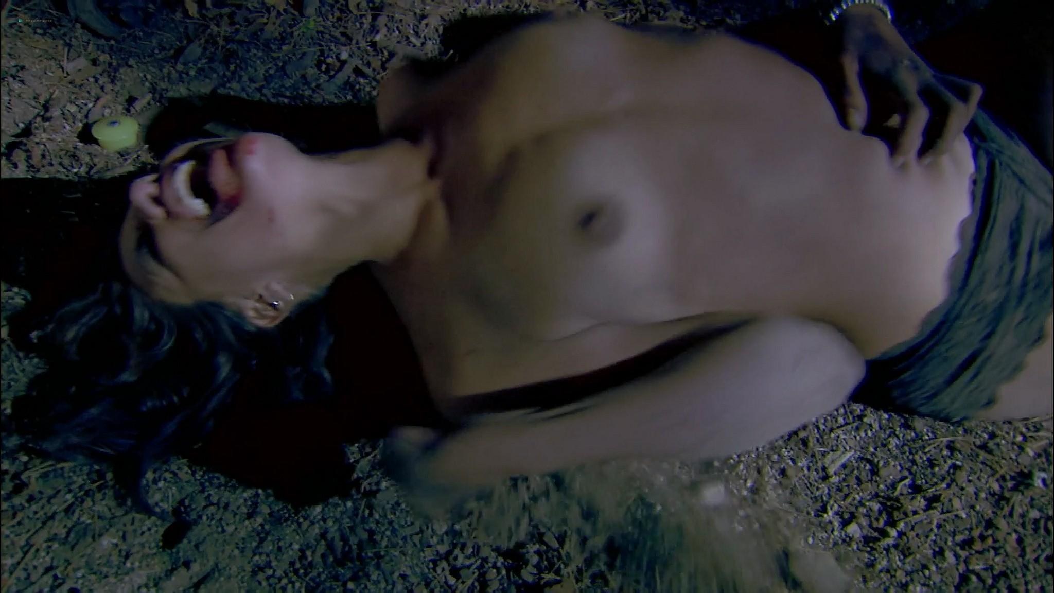 Tiffany Shepis nude Blythe Metz nude too Nightmare Man 2006 1080p Web 10