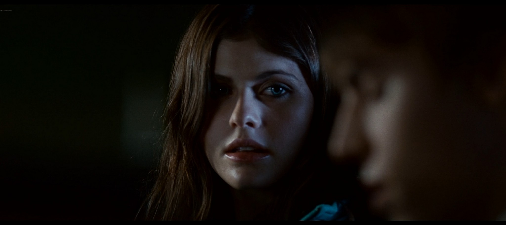 Alexandra Daddario hot sexy and see through from Bereavement 2010 HD 1080p BluRay