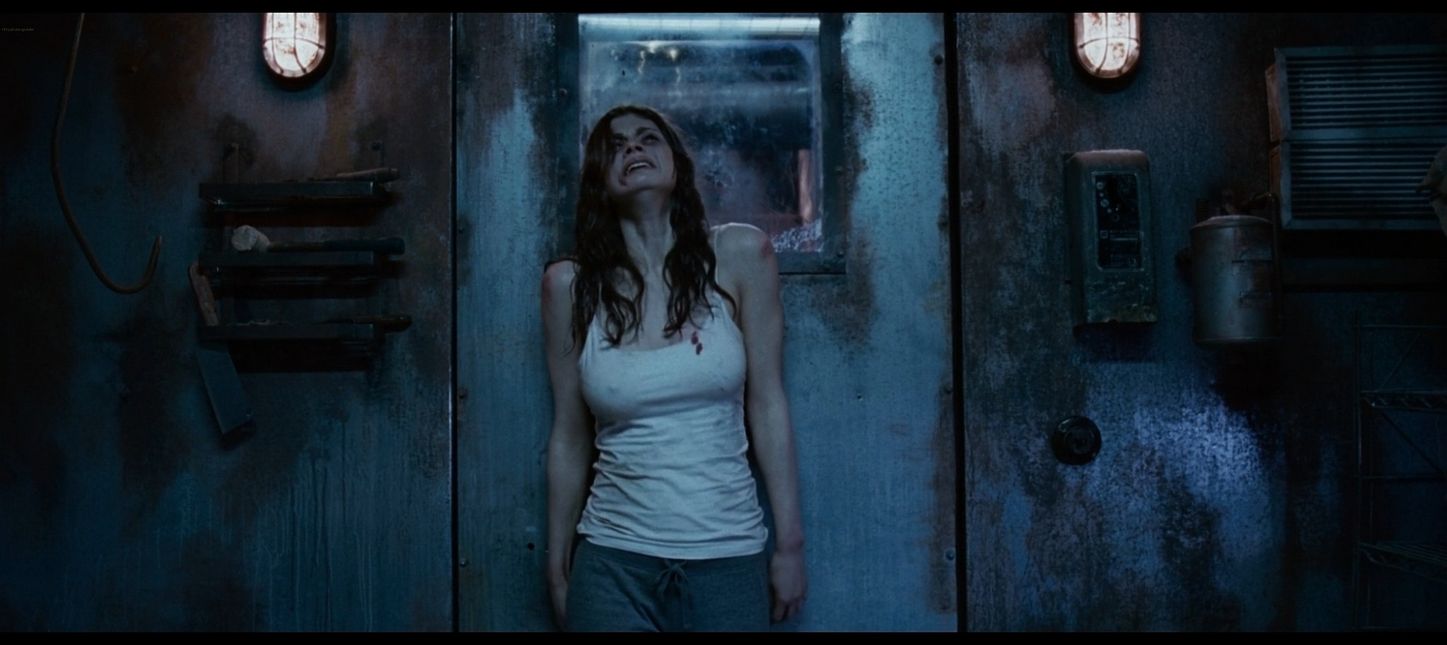 Alexandra Daddario hot sexy and see through from Bereavement 2010 HD 1080p BluRay 13