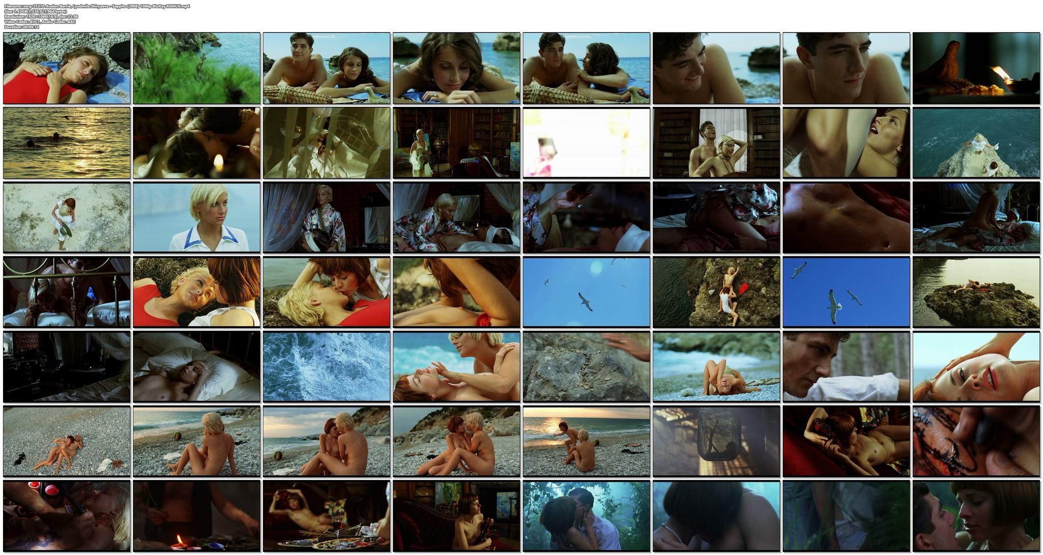 Avalon Barrie nude and Lyudmila Shiryaeva nude full frontal Sappho 2008 HD 1080p BluRay REMUX 26