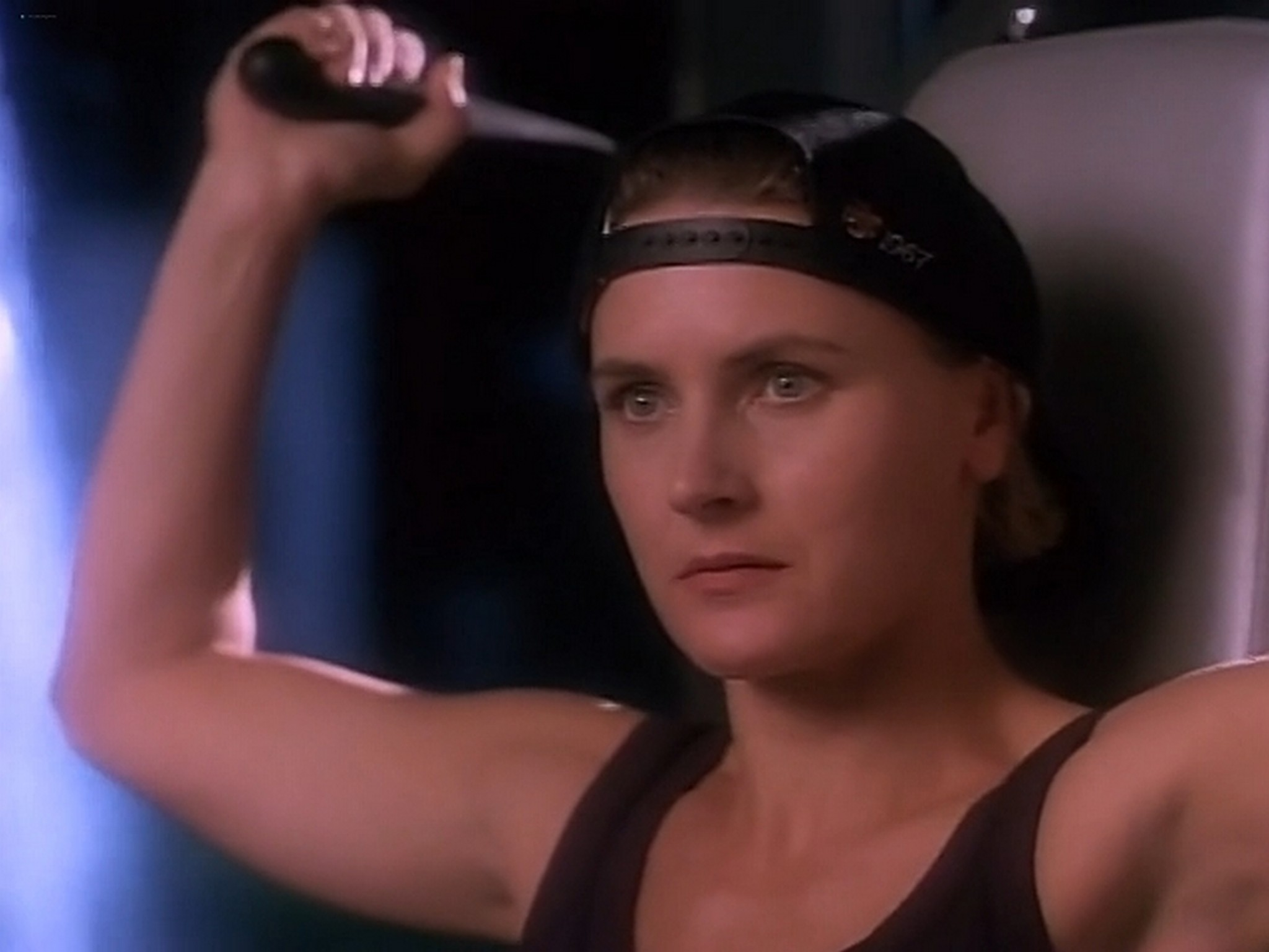 Denise Crosby nude and sex Red Shoe Diaries You Have the Right to Remain Silent 1992 DVDRip