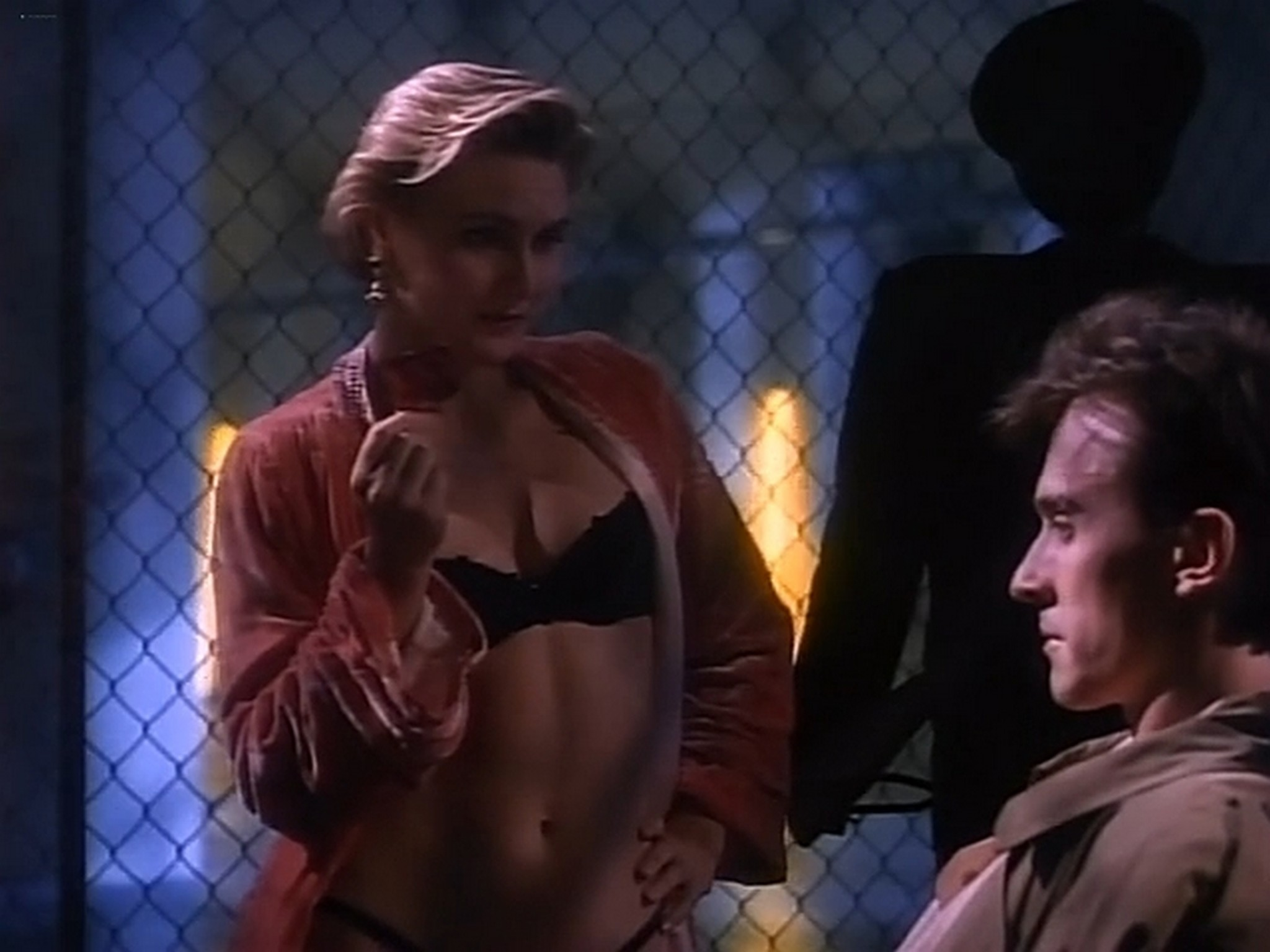 Denise Crosby nude and sex Red Shoe Diaries You Have the Right to Remain Silent 1992 DVDRip 5