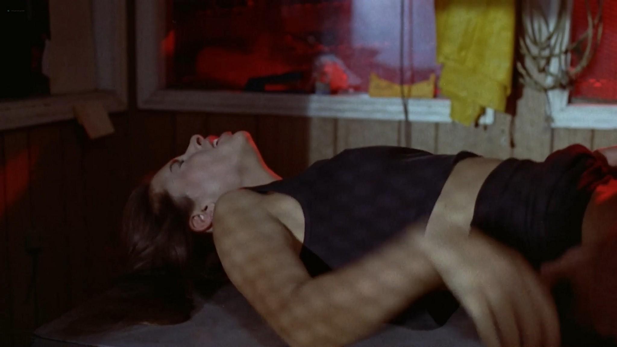 Katherine Barrese nude bush topless and hot sex Jezebels Kiss 1990 1080p Web