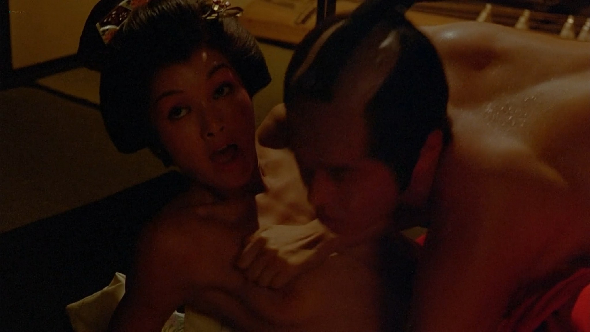 Susan George nude hot sex Mako Hattori nude The House Where Evil Dwells 1982 1080p BluRay 2