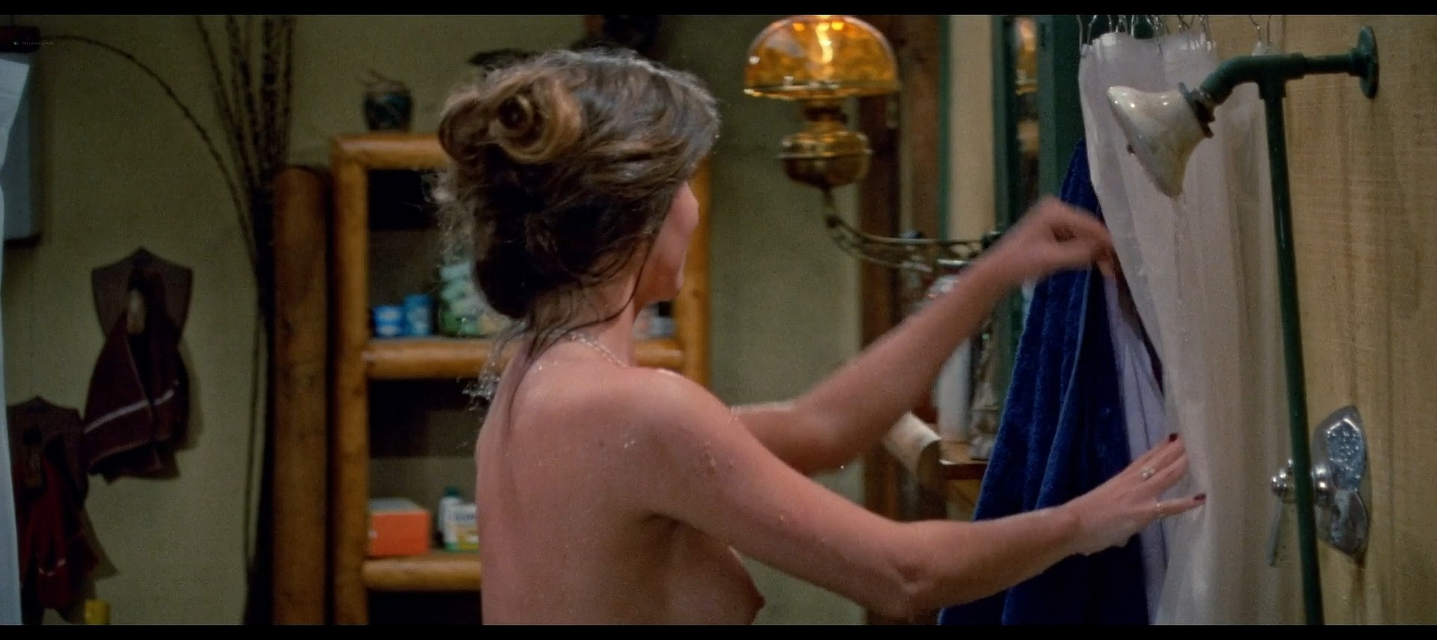 Tracie Savage nude in the shower Friday the 13th Part 3 1982 BluRay 11