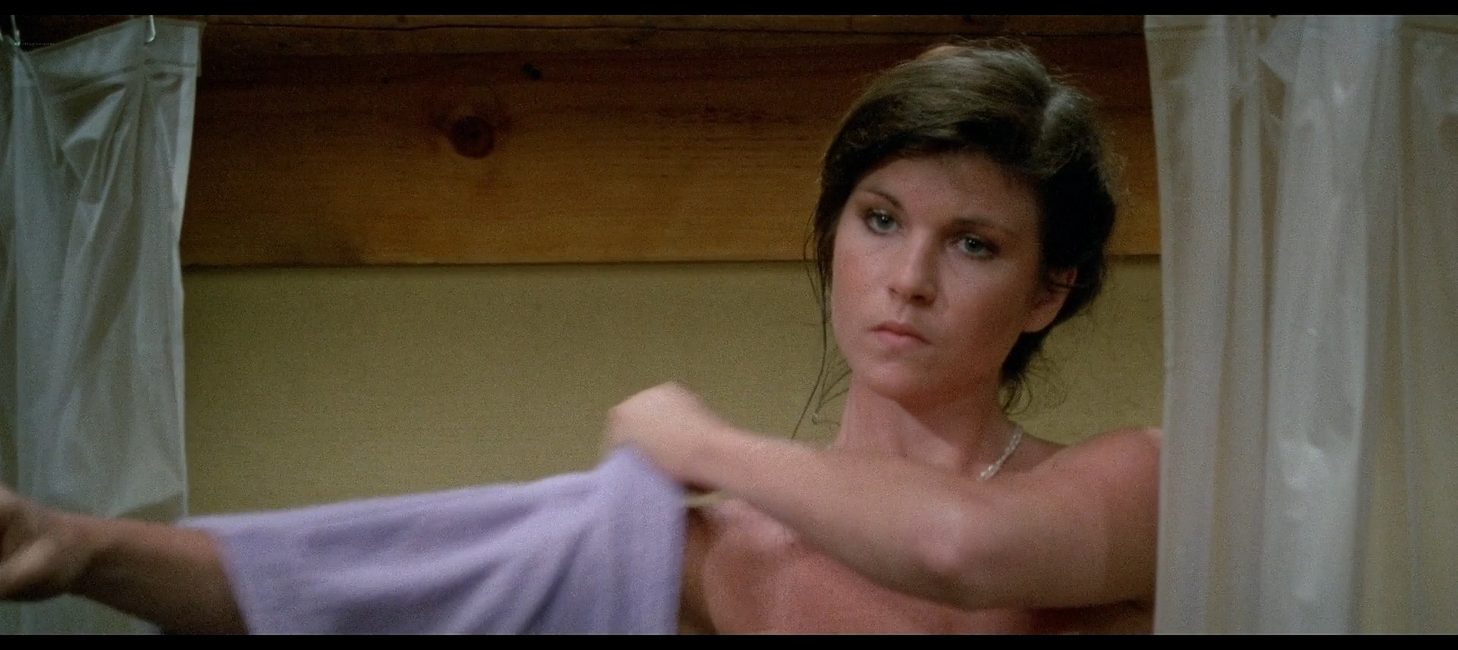 Tracie Savage nude in the shower Friday the 13th Part 3 1982 BluRay 12