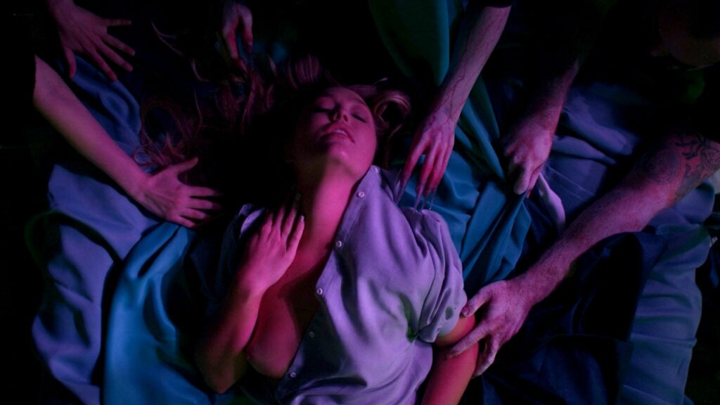 Amanda Jones nude Christina Helene Braa Hannah Hueston sexy and nude The Resonator Miskatonic U 2021 1080p Web 10