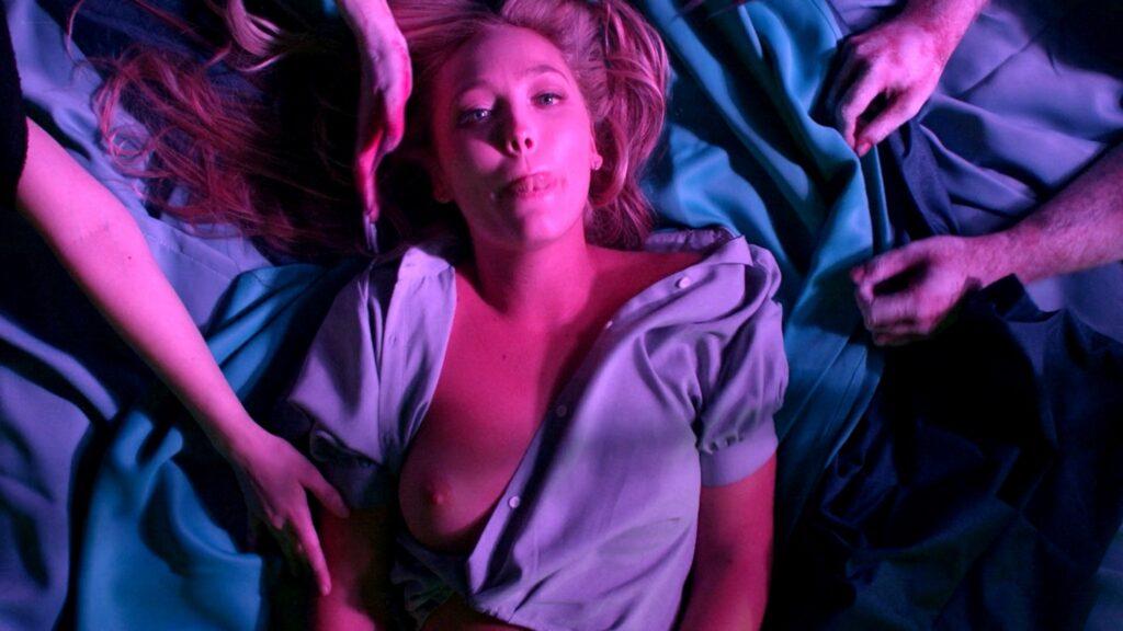Amanda Jones nude Christina Helene Braa Hannah Hueston sexy and nude The Resonator Miskatonic U 2021 1080p Web 13