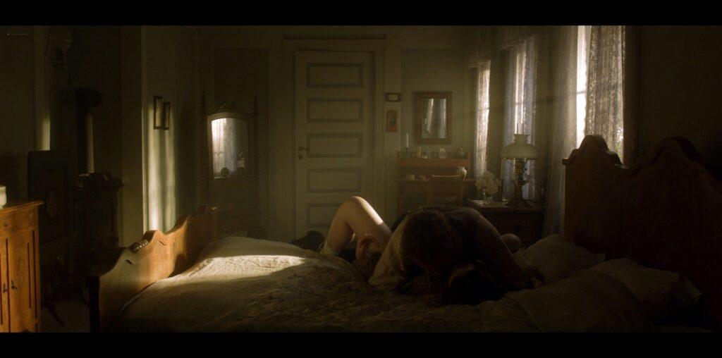 Birgitte Hjort Sorensen nude topless and sex Marie Kroyer DK 2012 1080p BluRay 2