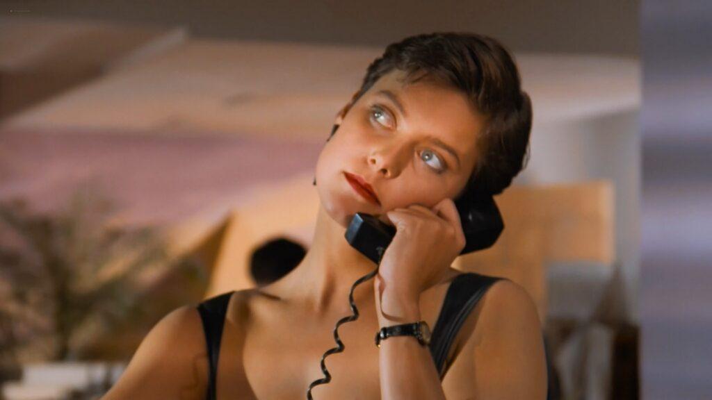 Carey Lowell nude nipple Kara Glover Ellen Greene sexy lingerie Me and Him 1988 1080p BluRay 10