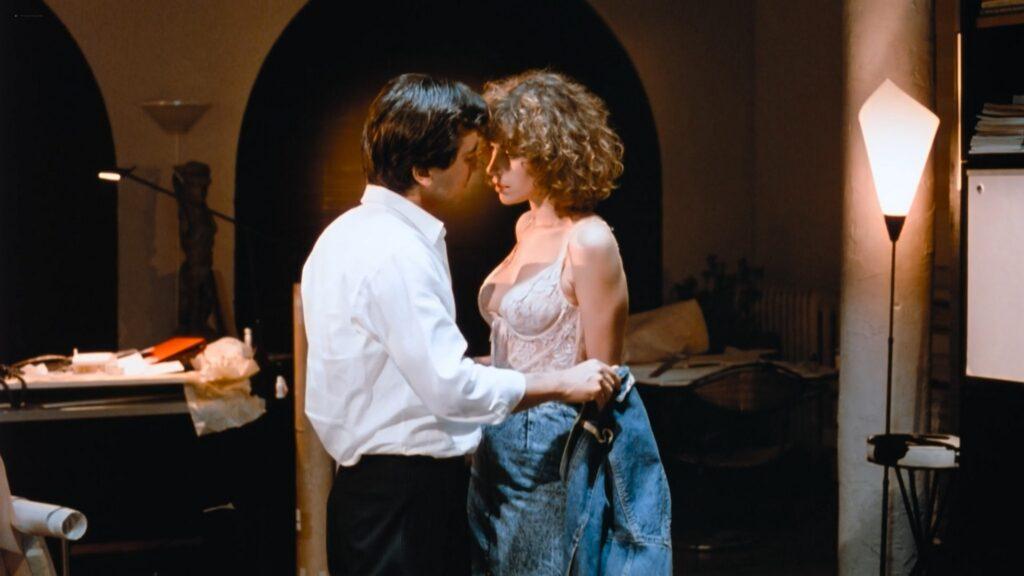 Carey Lowell nude nipple Kara Glover Ellen Greene sexy lingerie Me and Him 1988 1080p BluRay 16