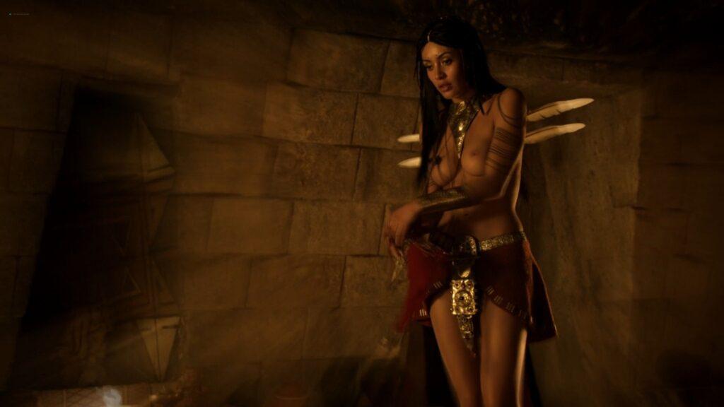 Carolina Guerra nude full frontal Da Vincis Demons 2014 S2 1080p BluRay 3