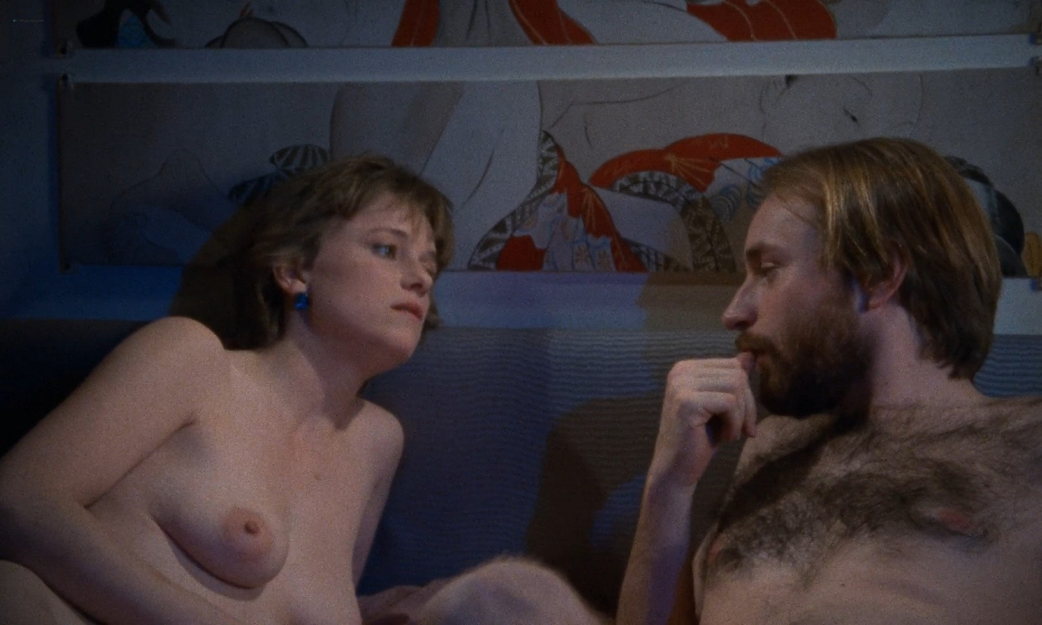 Helen Nicholas nude full frontal Louise Smith and others nude sex Working Girls 1986 1080p BluRay 13