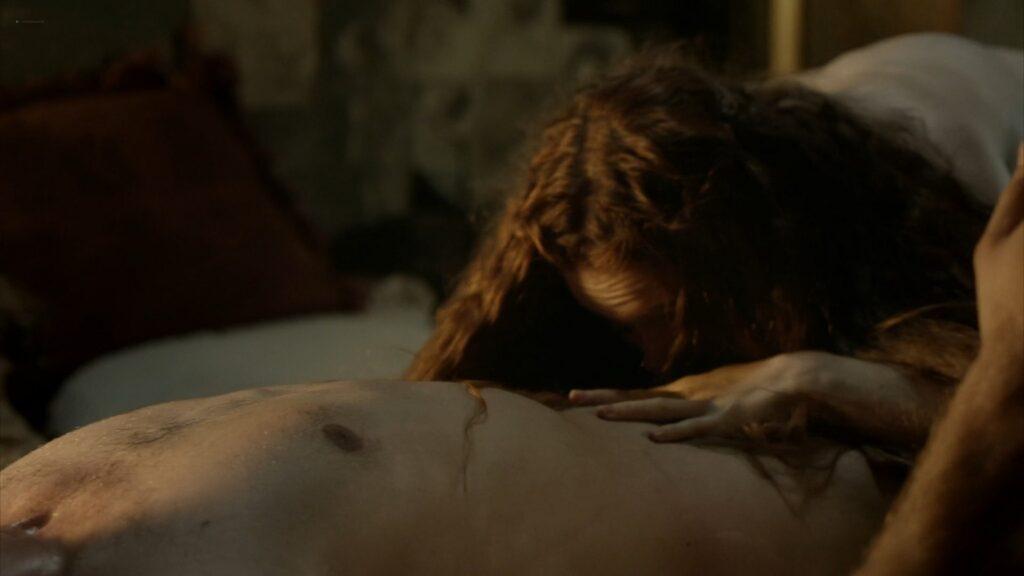 Hera Hilmar nude sex Sarah Ball nude Da Vincis Demons 2013 S1 1080p BluRay 17